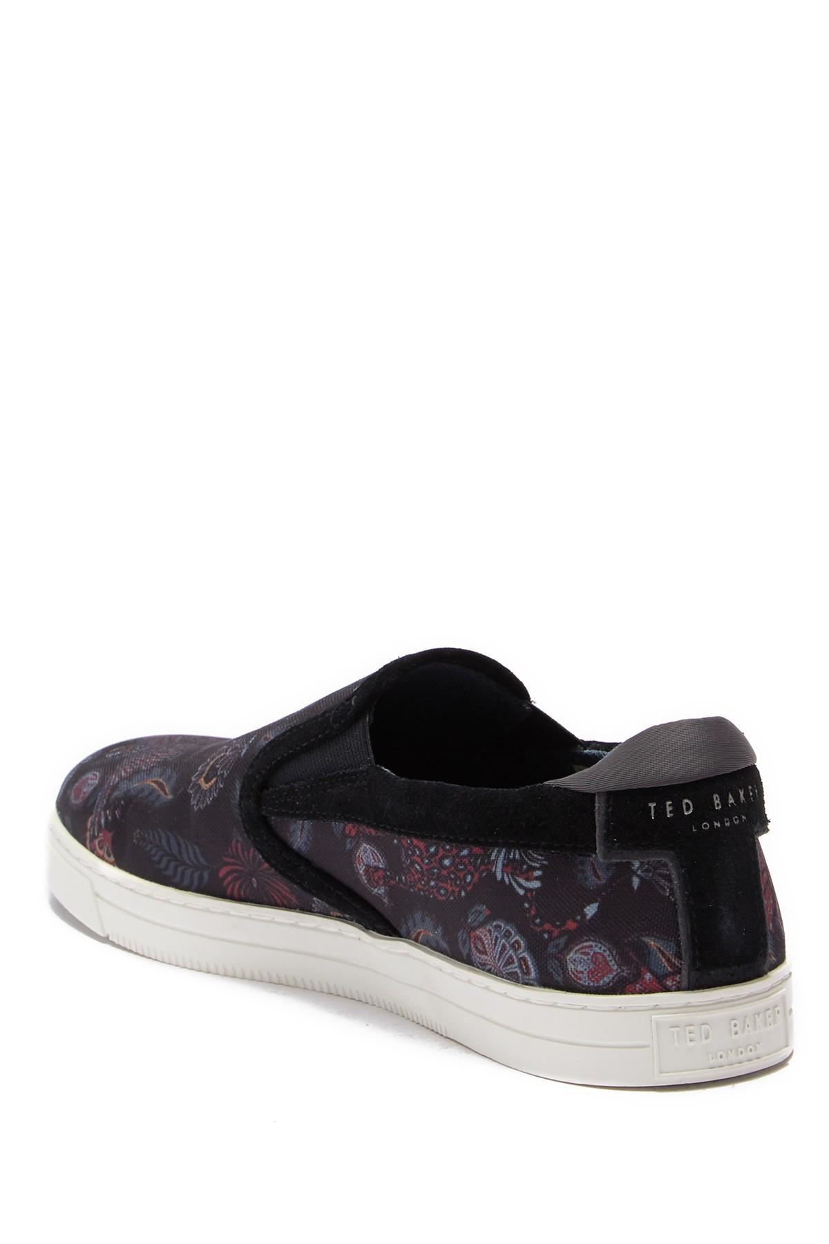 355cc5c8a Ted Baker - Multicolor Mhako Printed Slip-on Sneaker for Men - Lyst. View  fullscreen