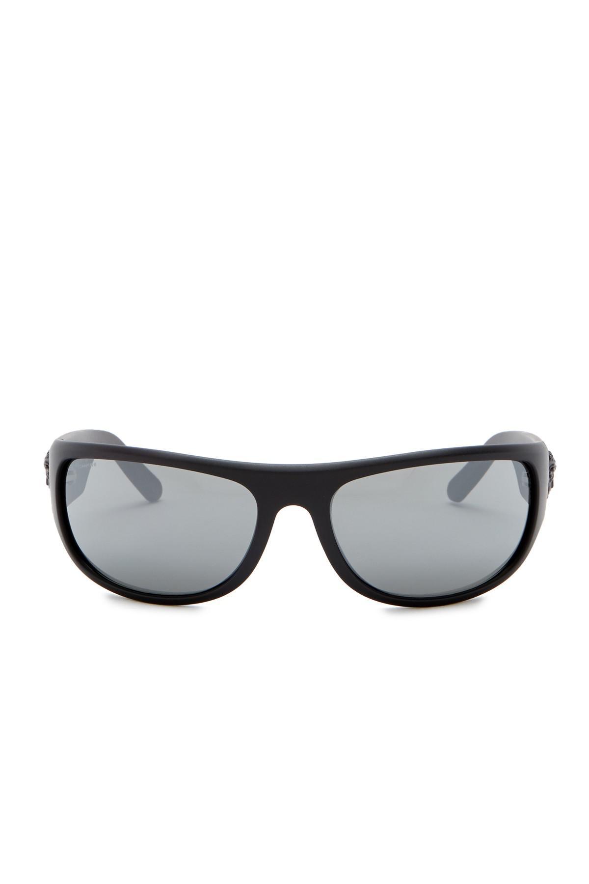 3fe4e07372b1 Lyst - Versace Rock Icons 63mm Rectangle Sunglasses for Men