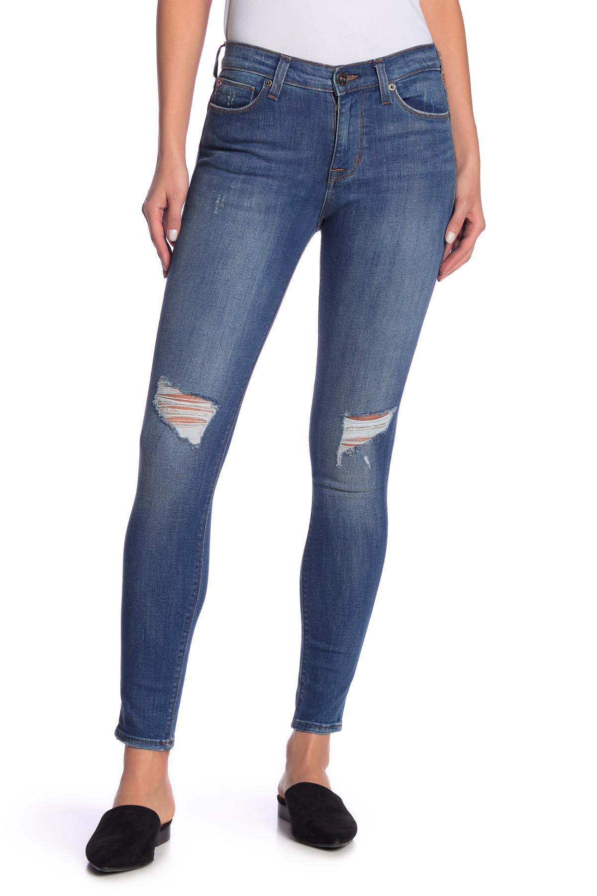 371152500d16a Hudson Jeans. Women s Blue Natalie Mid Rise Super Skinny Jeans.  252  120  From Nordstrom Rack