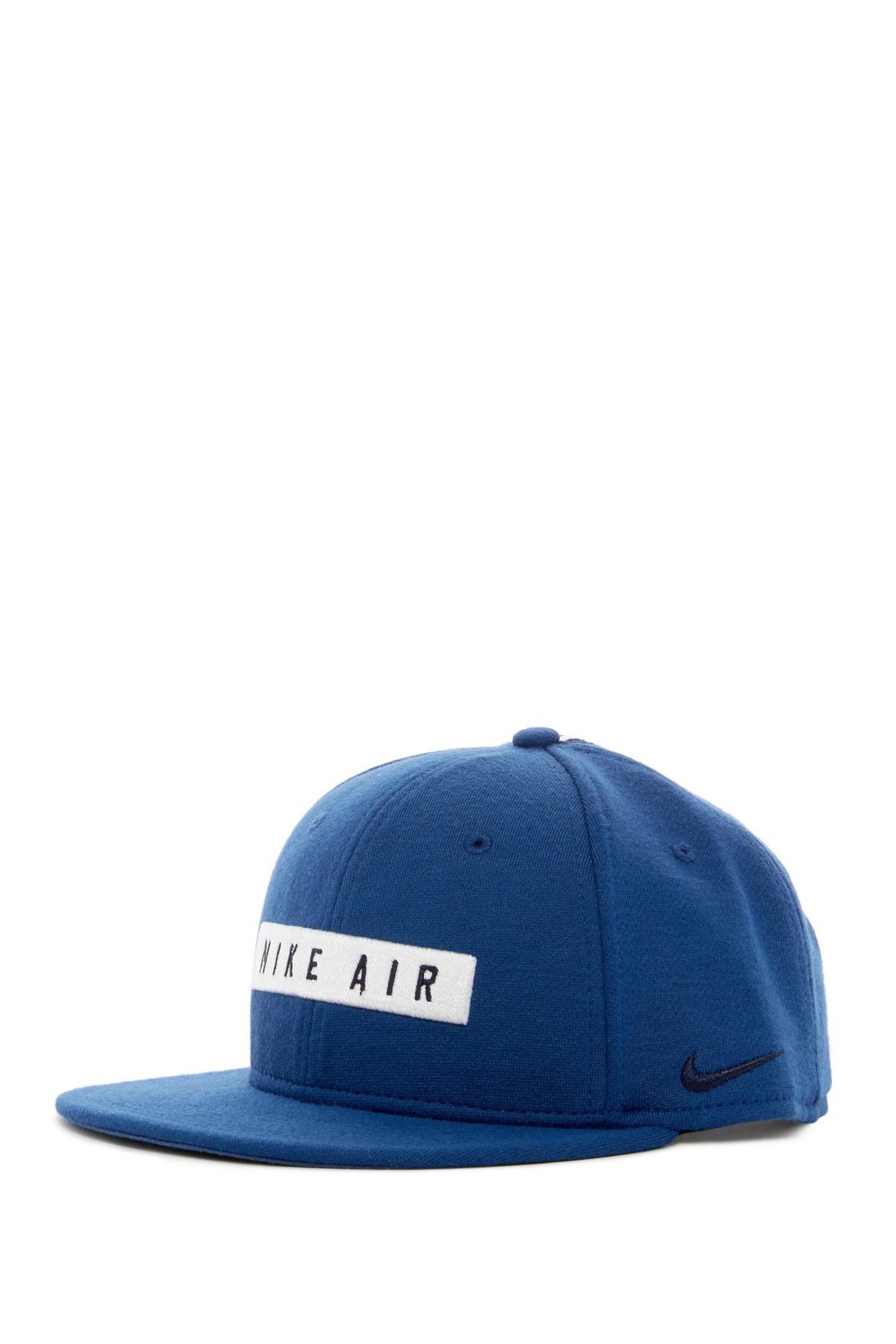Lyst - Nike Air 92 True Snapback Cap in Blue for Men c167f5e409d4