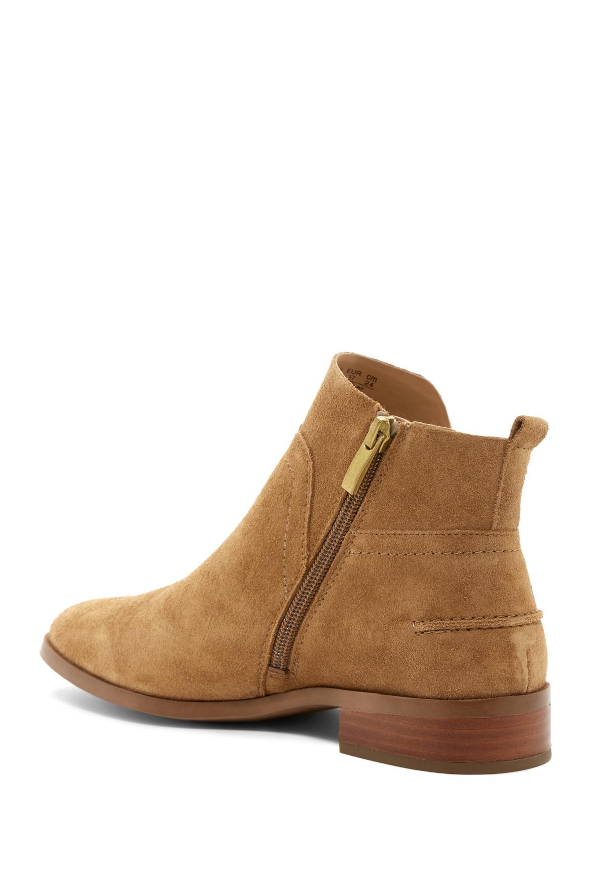 73d1f559f60 Lyst - Franco Sarto Ruby Post Button Boot in Brown