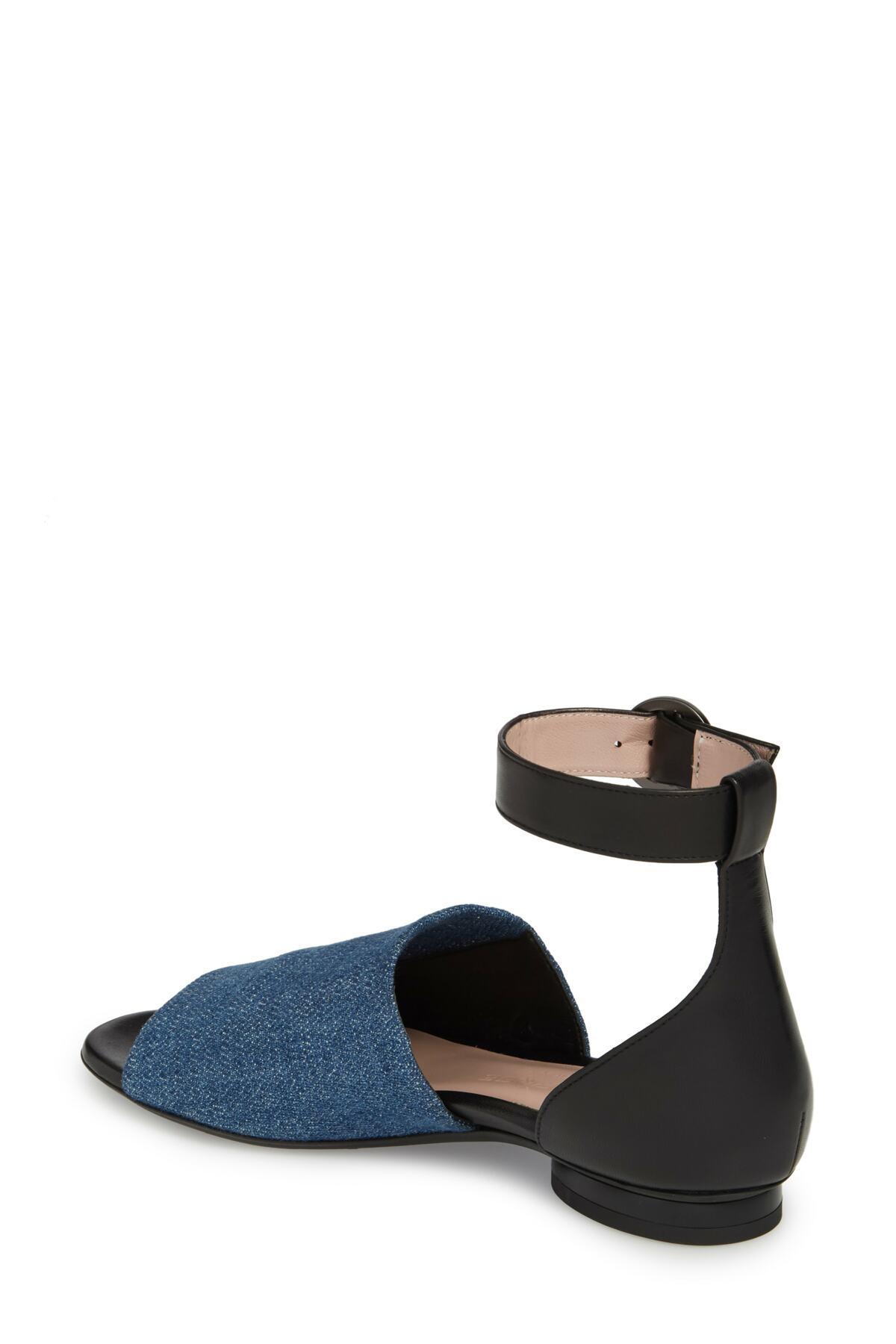 5c662f203a74 Lyst - Taryn Rose Donya Ankle Strap Sandal (women) in Blue