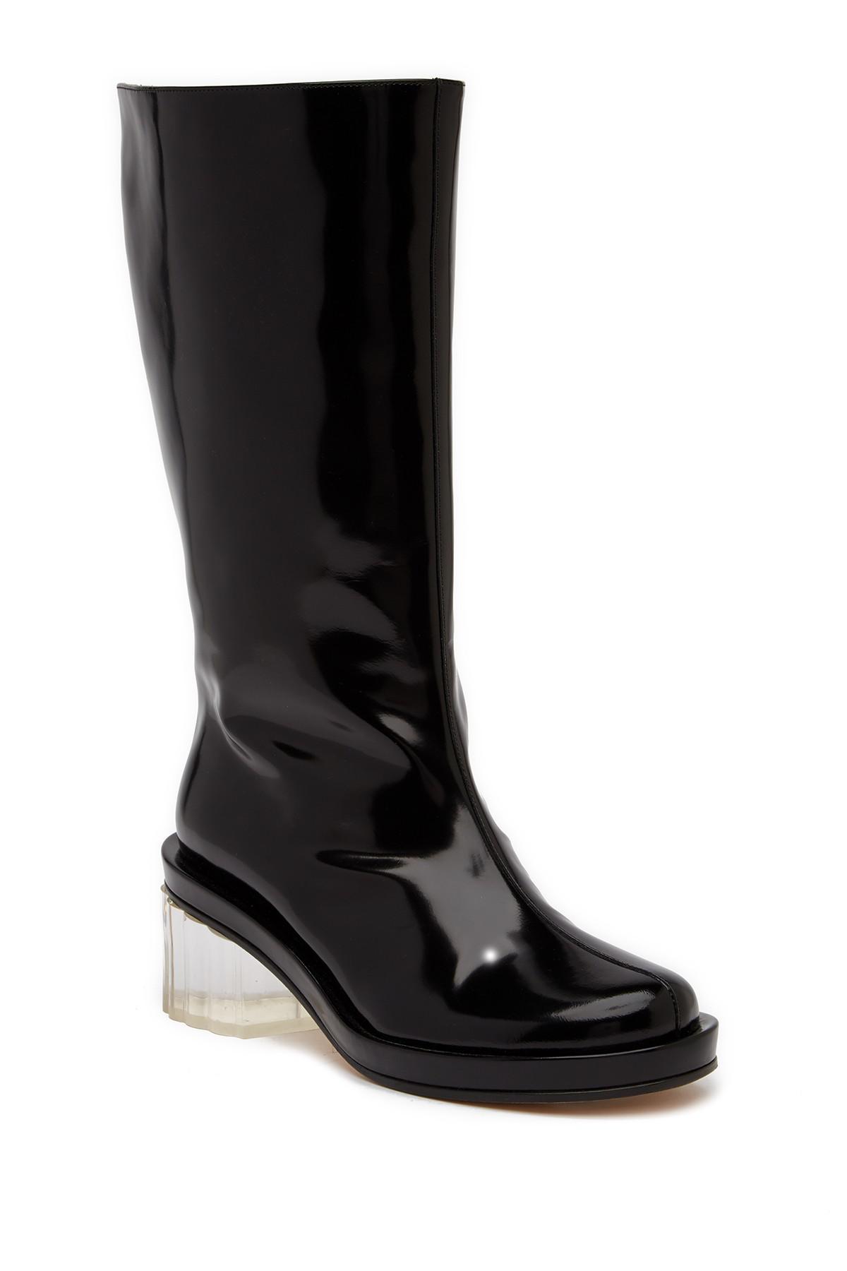 Simone Rocha Black Suede Glawdys Boots 99N0SknY