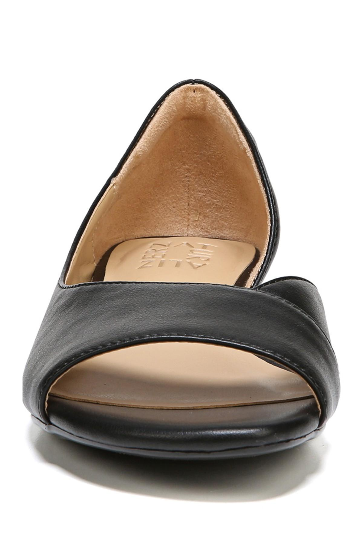 33e855b1dd4 Naturalizer - Black Jasmin Wedge - Wide Width Available - Lyst. View  fullscreen