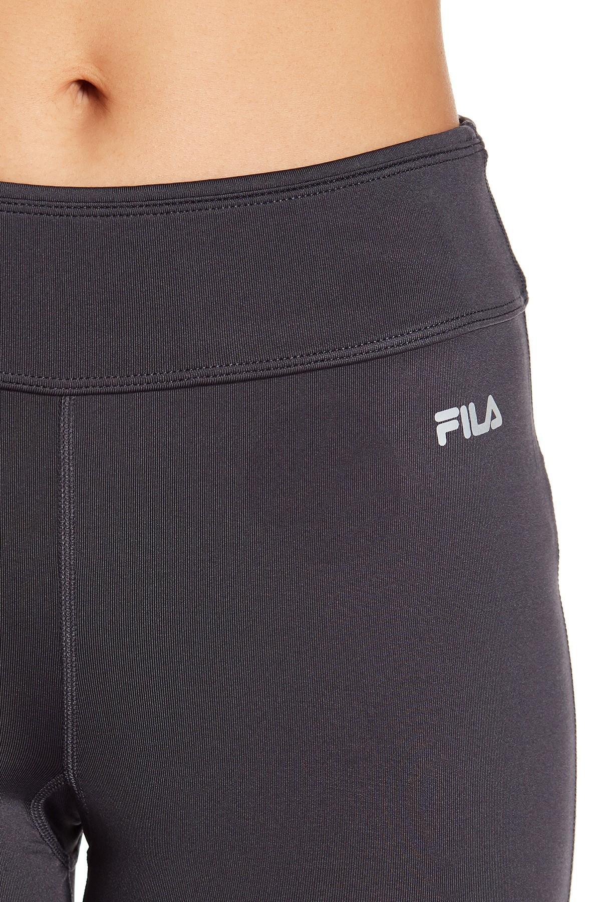 d4c7111a0f9 Lyst - Fila Solid Leggings