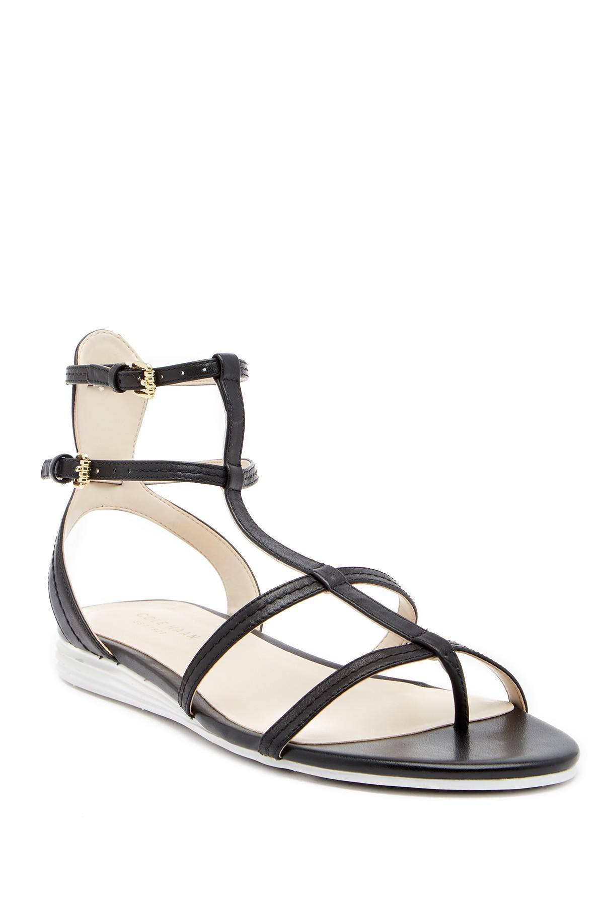 dadbbec59ac Lyst - Cole Haan Original Grand Gladiator Sandal in Black