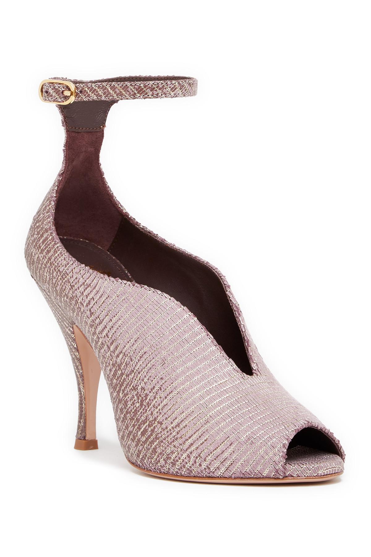 Bruno Magli Cali Peep Toe Ankle Strap Pump xk3S9cOP