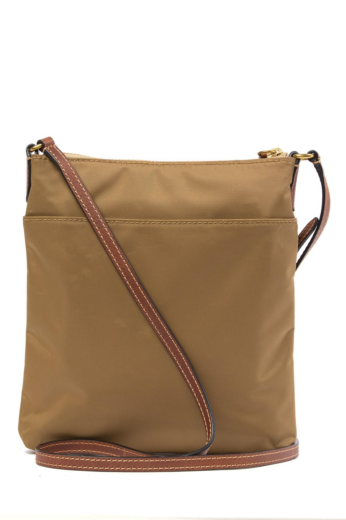 925d79075c Lyst - Frye Ivy Nylon Leather-trimmed Crossbody Bag