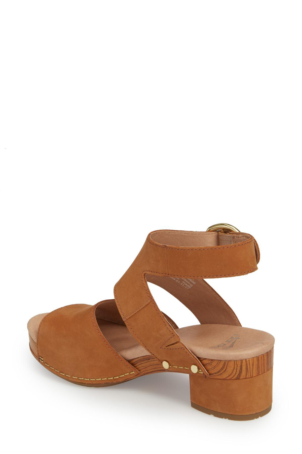 b5cb7929c4b Lyst - Dansko Minka Sandal in Brown