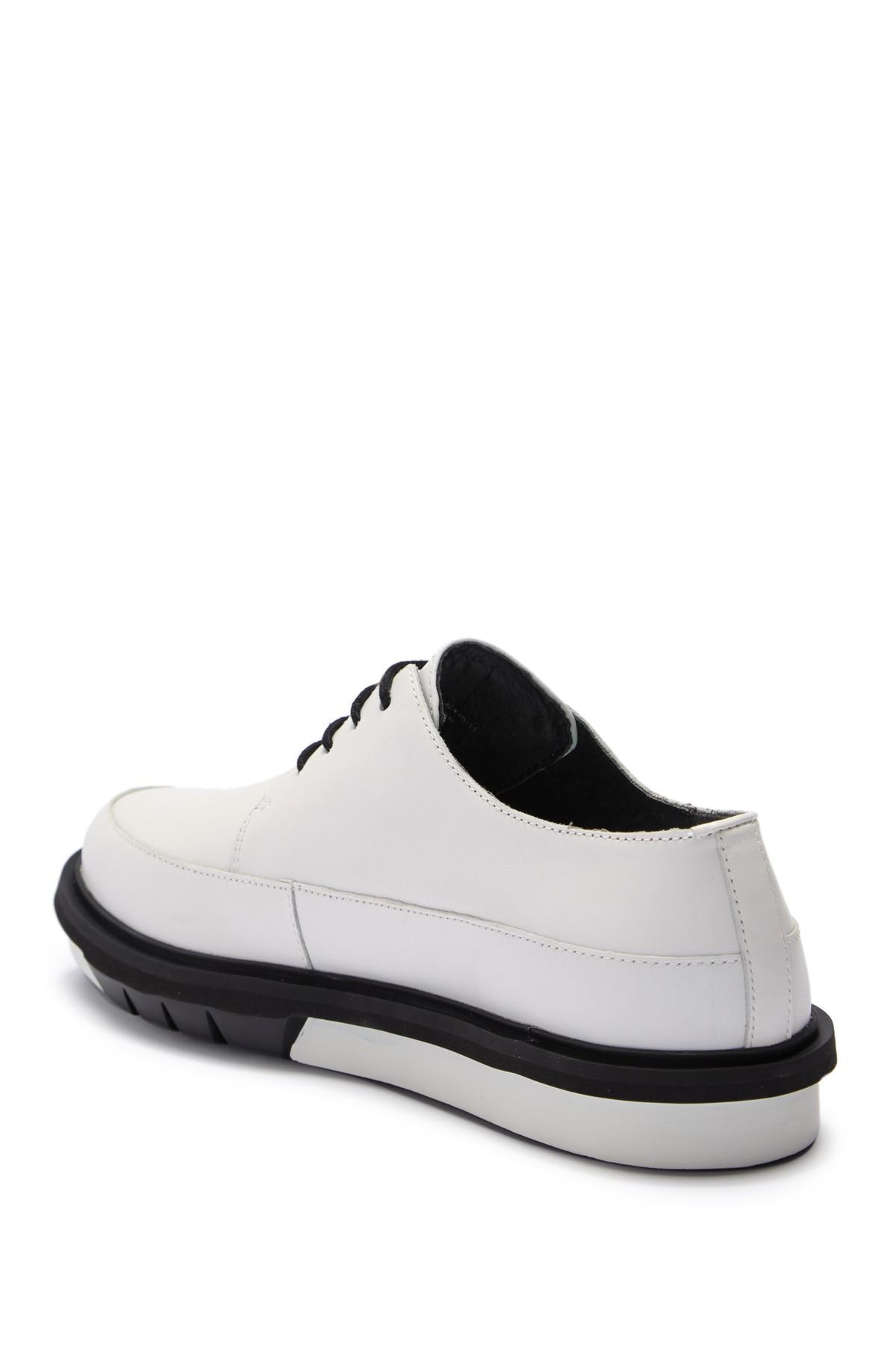 b0796bf2a74 Camper - White Mateo Leather Flatform Derby for Men - Lyst. View fullscreen
