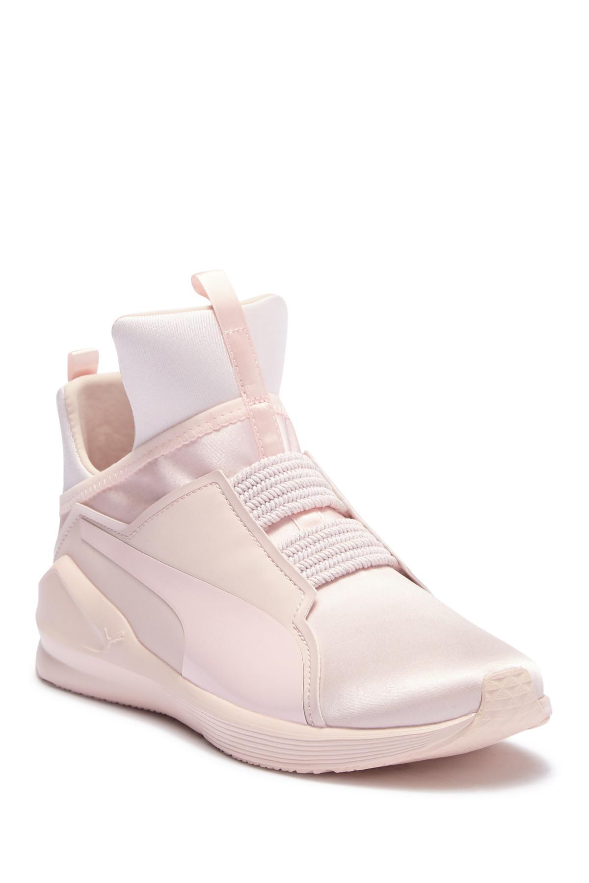 Lyst - PUMA Fierce Satin Ep Training Sneaker in White 32a1cdf6d