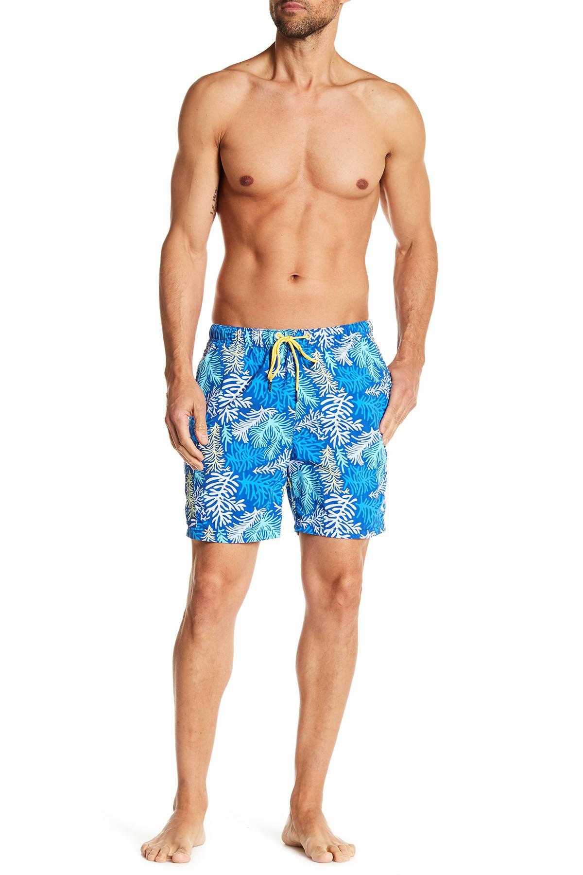 82da7d029a Tommy Bahama Naples Coral Sagan Print Board Shorts in Blue for Men ...