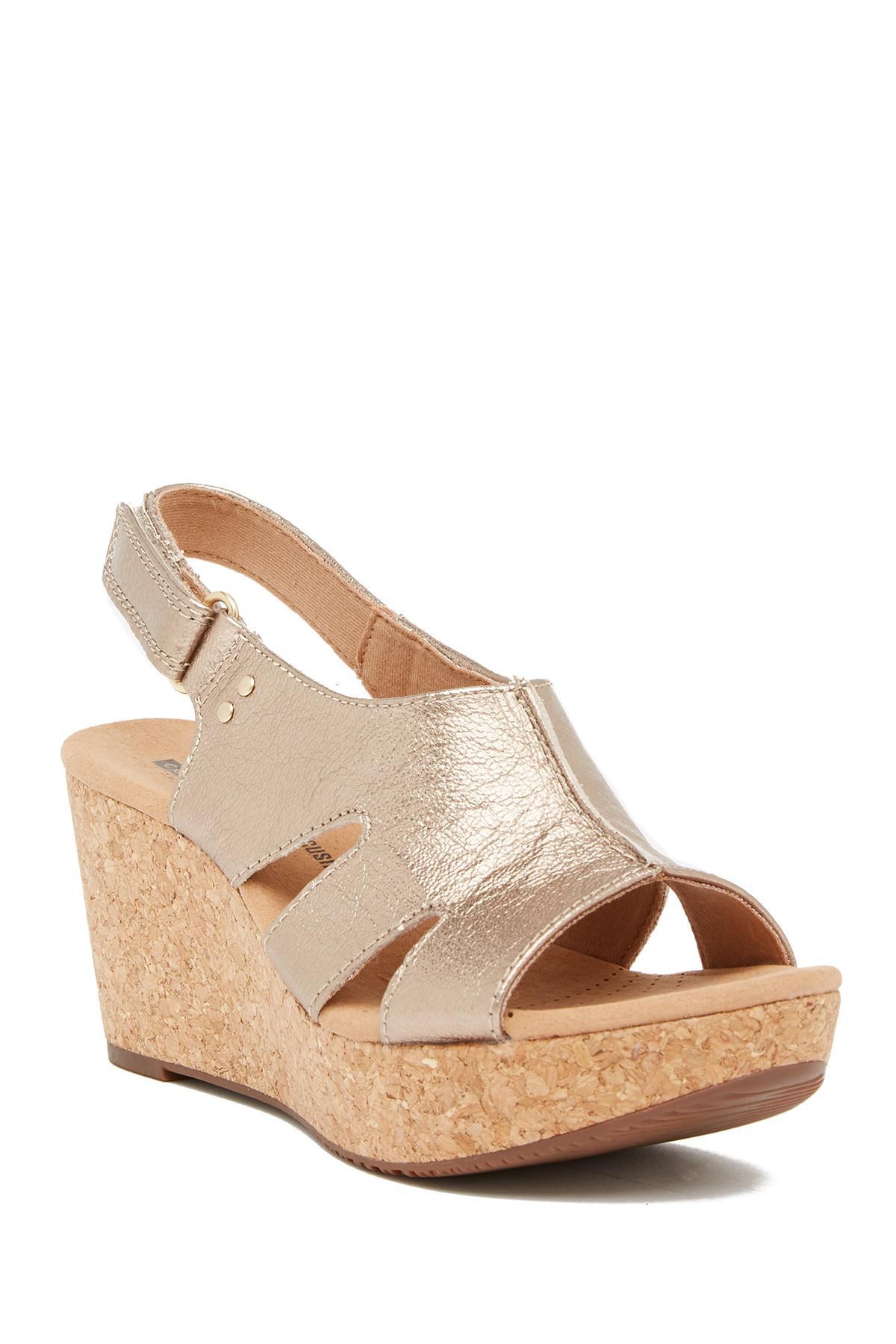 1c74818c7117 Clarks. Women s Annadel Bari Platform Wedge Sandal