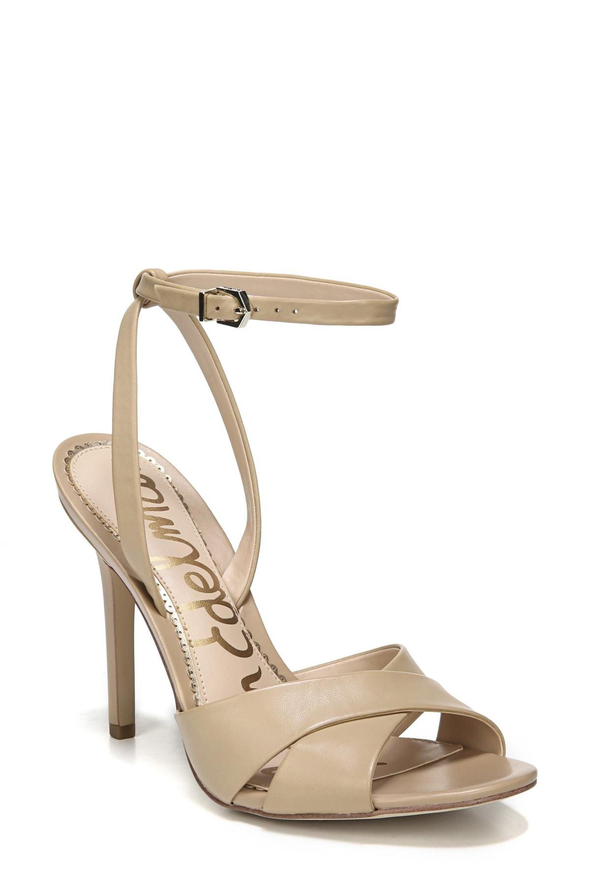 4d134bdace6 Lyst - Sam Edelman Aly Ankle Strap Sandal (women) in Natural