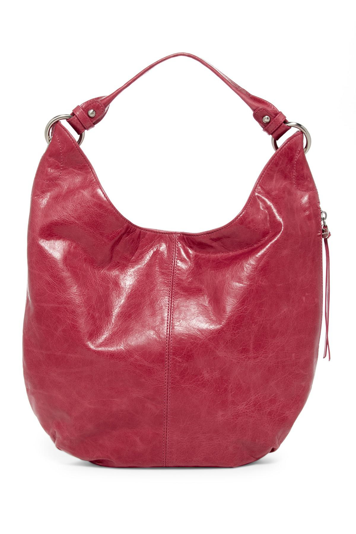 aa8016c19 Lyst - Hobo Gardner Leather in Red