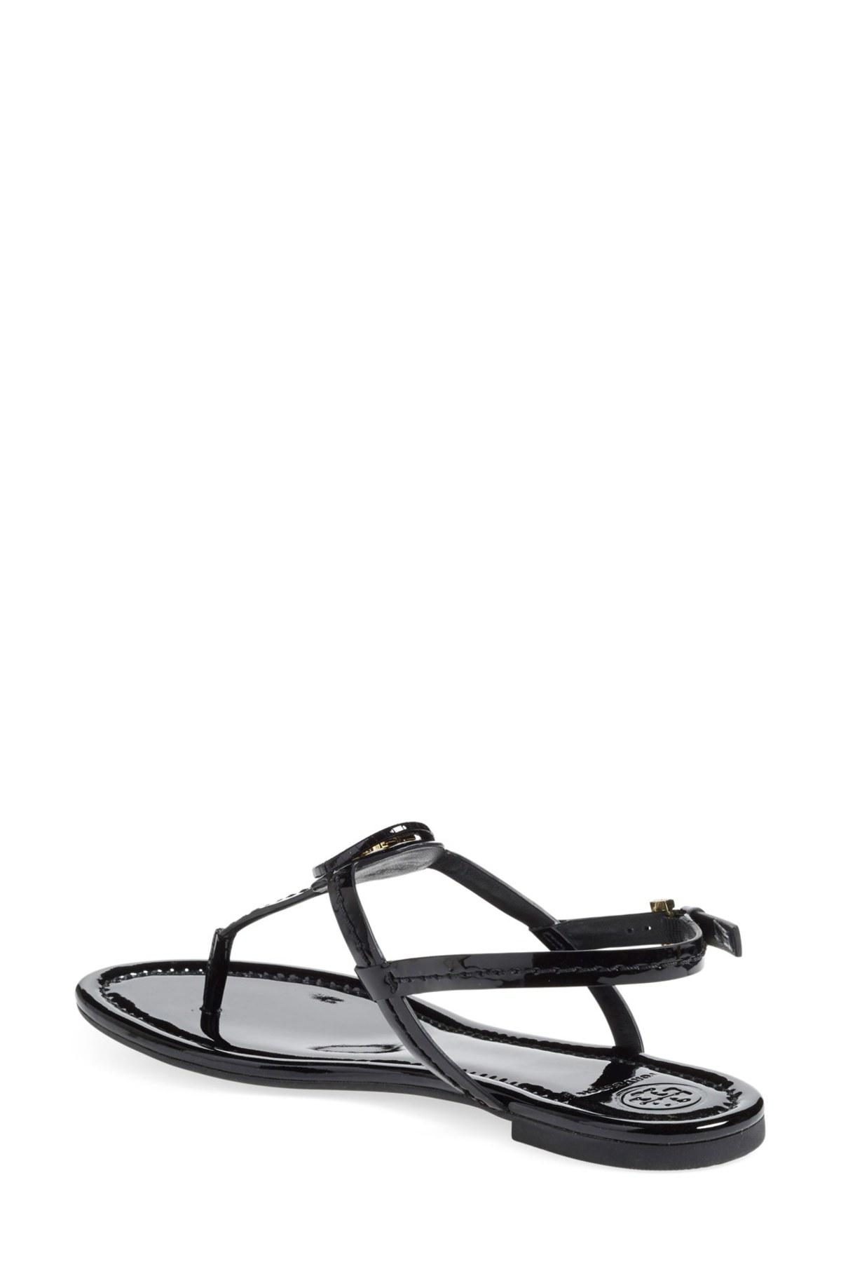 739926a20fd Lyst - Tory Burch Dillan Sandal in Black