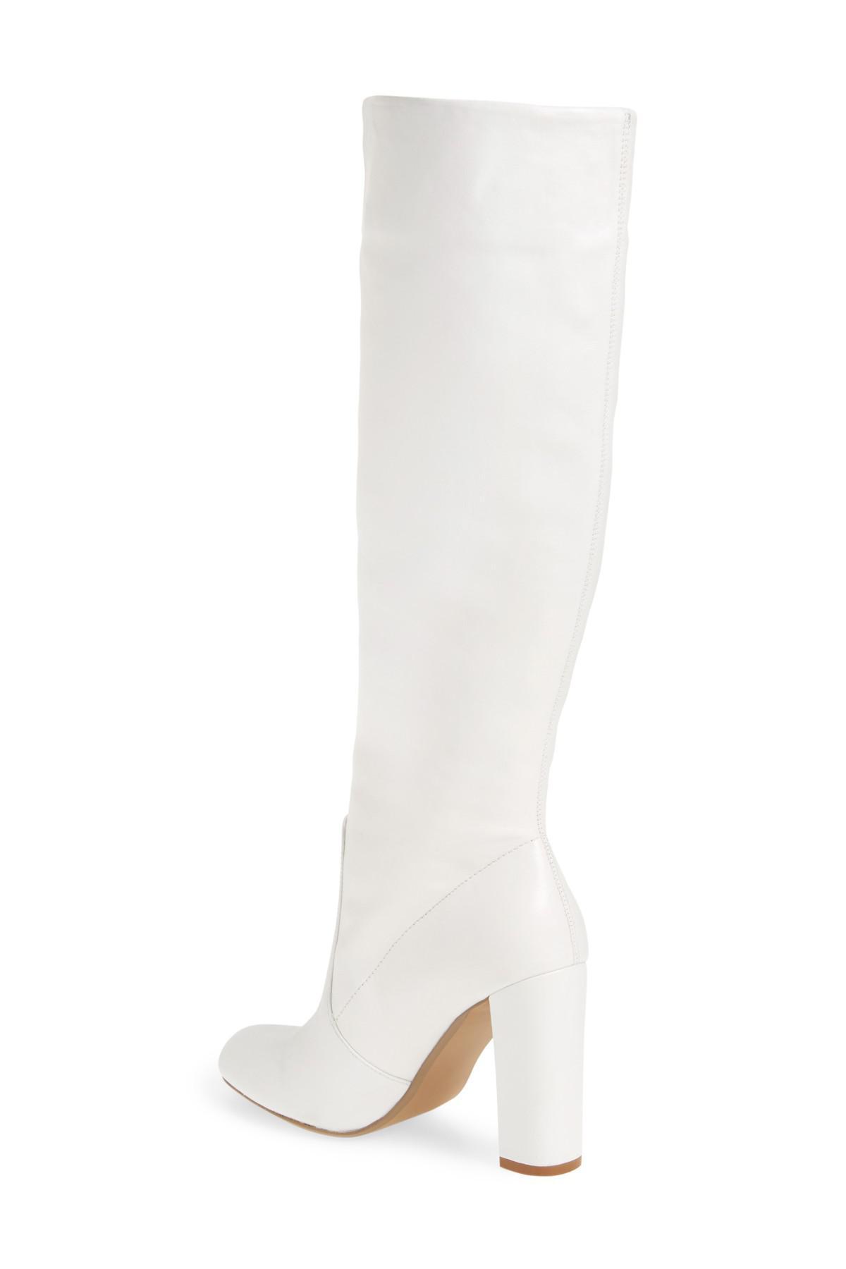 54c2afcdd59 Lyst - Steve Madden Steven Madden Eton Boot in White