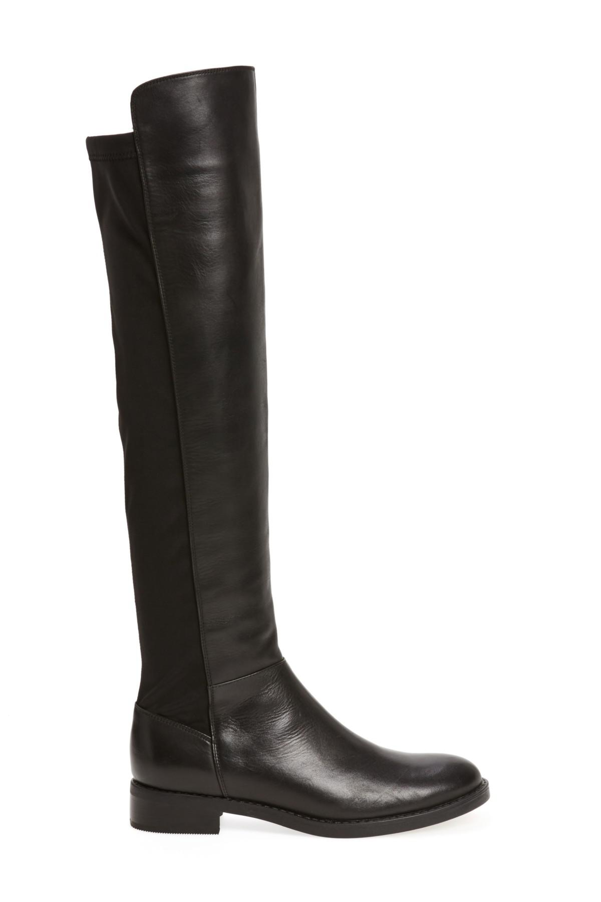 0a0cac416fb Blondo Olivia Knee High Boot in Black - Lyst