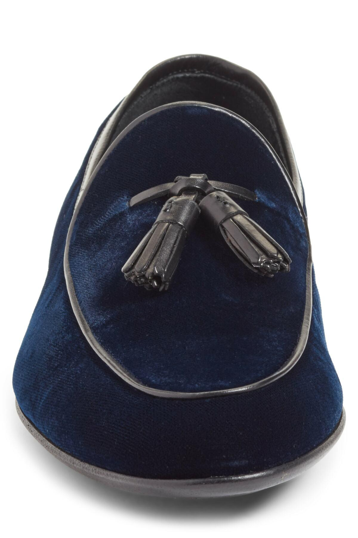 d73ca012e47 Lyst - Magnanni Denton Tassel Loafer (men) in Blue for Men