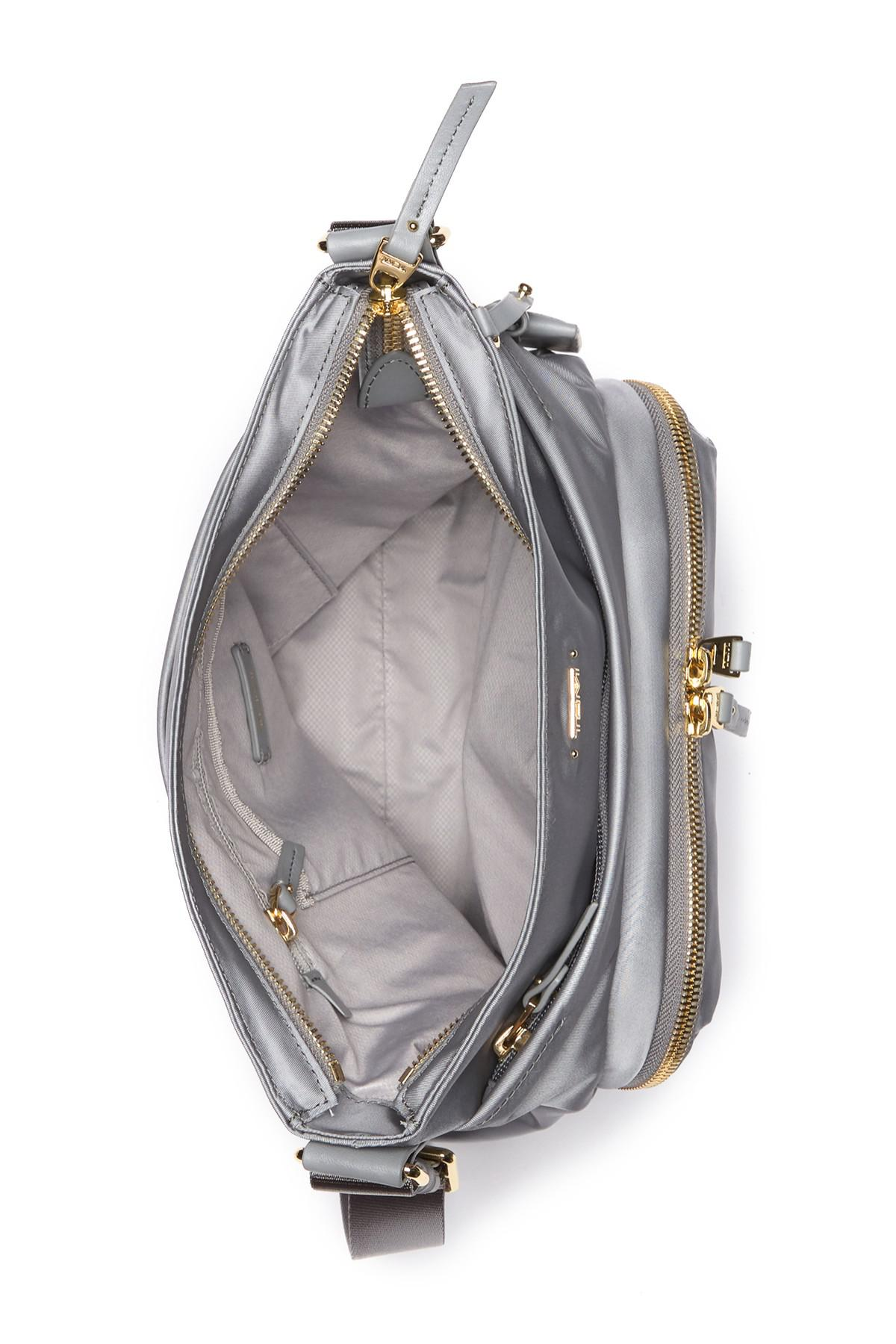 a084021512a1 Tumi - Gray Voyager - Capri Nylon Crossbody Bag - Lyst. View fullscreen