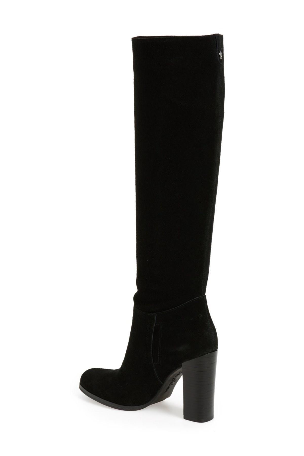 e42e82ff89ae36 Lyst - Sam Edelman Victoria Slouch Boot in Black