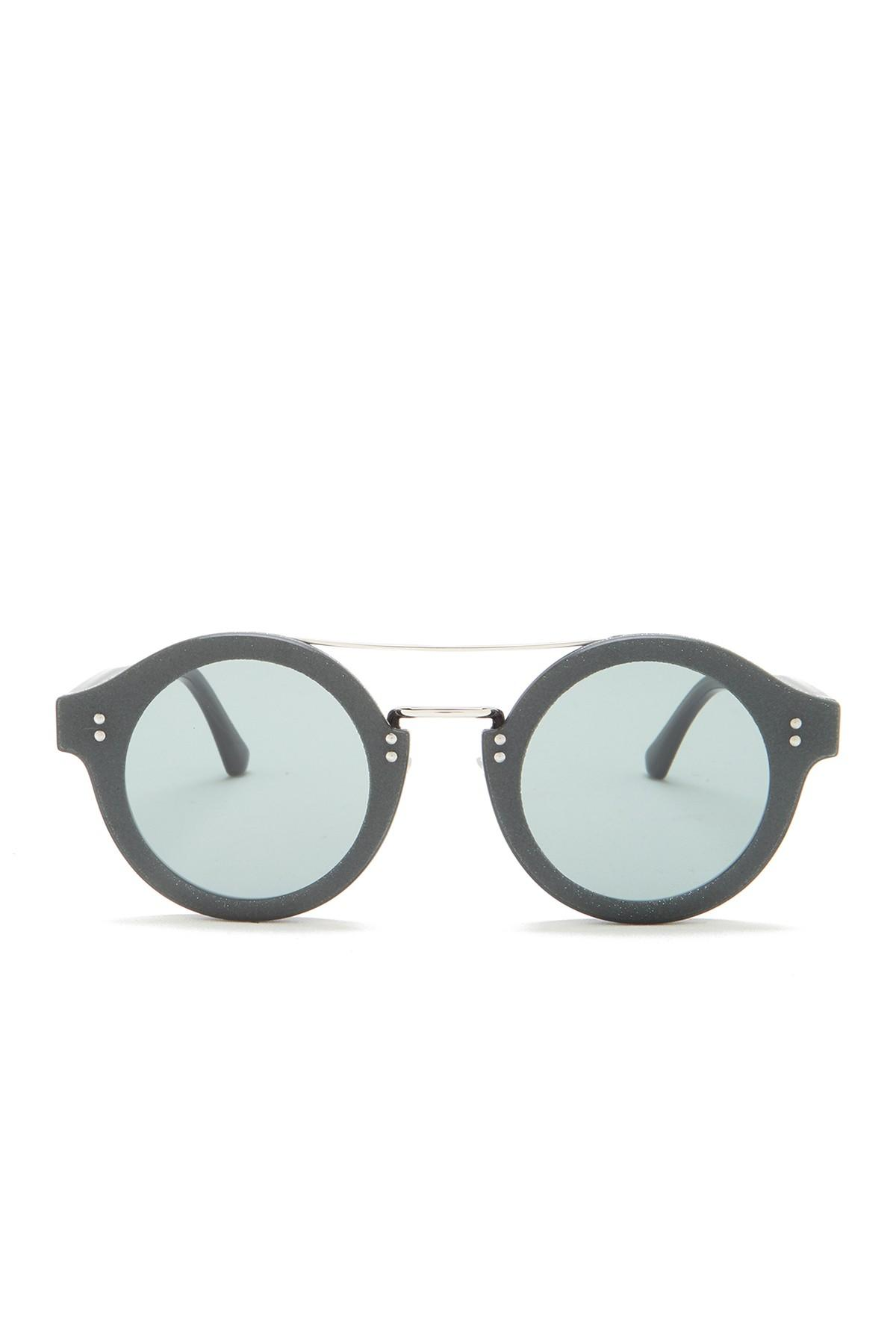 d6b186e8a2 Jimmy Choo - Multicolor Montie 64mm Round Aviator Sunglasses - Lyst. View  fullscreen