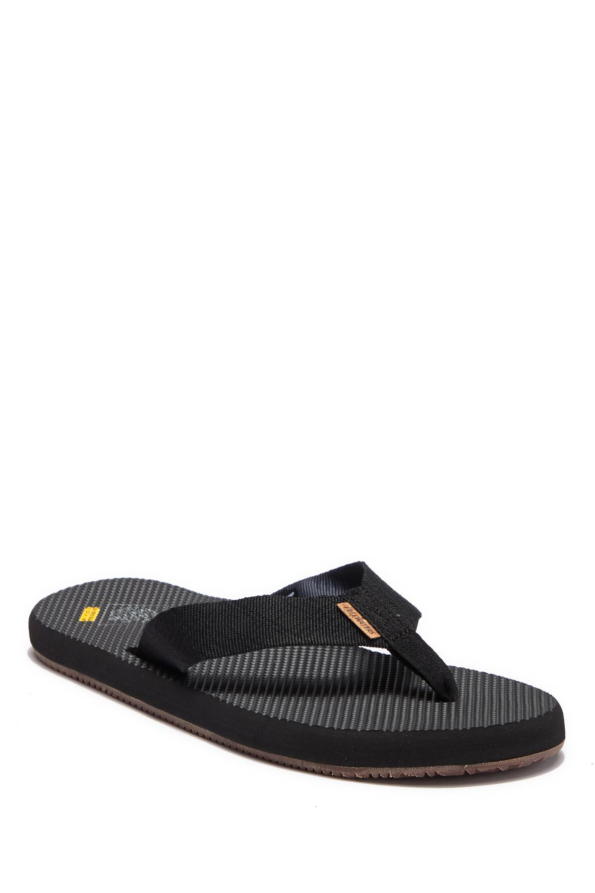 f4998c1b55e Lyst - Freewaters Supreem Slip-on Flip-flop in Black for Men - Save 14%
