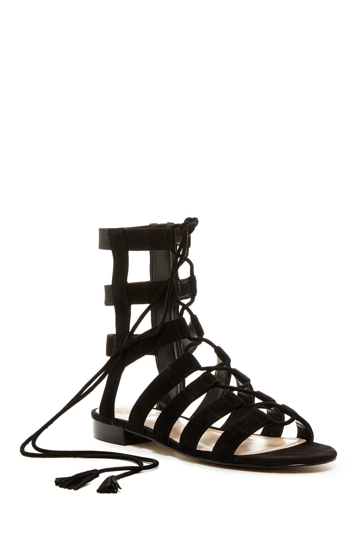87b1a379757 Lyst - Vince Camuto Helayn Gladiator Sandal in Black