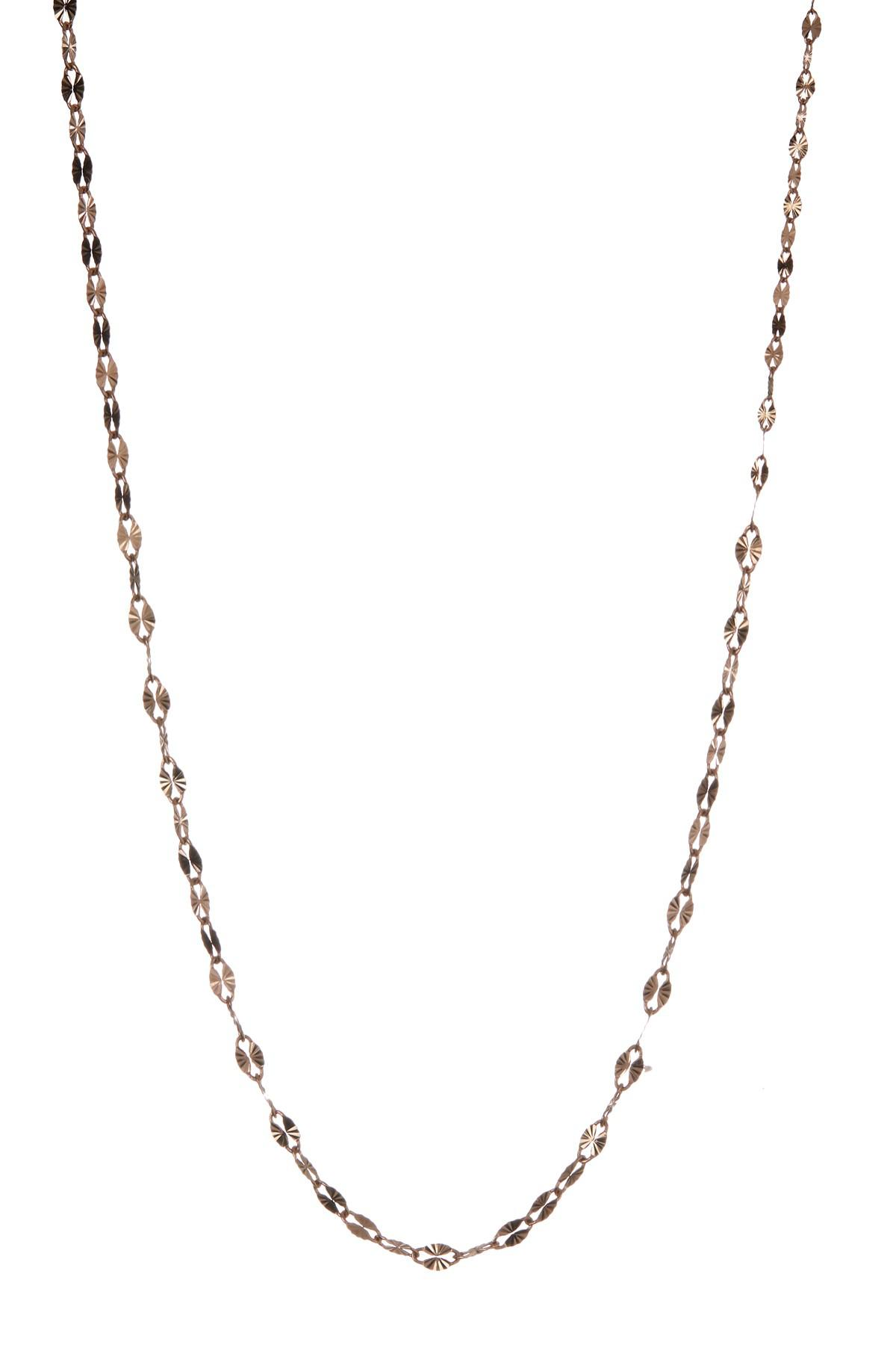 Lyst Lana Jewelry 14k Rose Gold Single Strand Necklace in Metallic