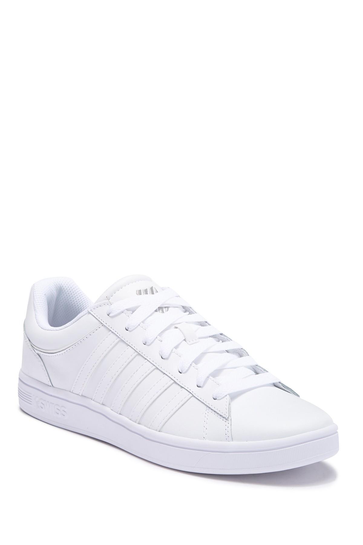 6f78ef244a64 K-swiss Court Lite Stripes Sneaker in White for Men - Lyst