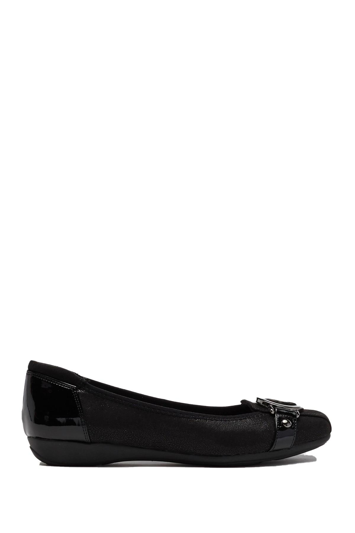 d388c7048af Anne Klein - Black Akuther Slip-on Flat - Lyst. View fullscreen
