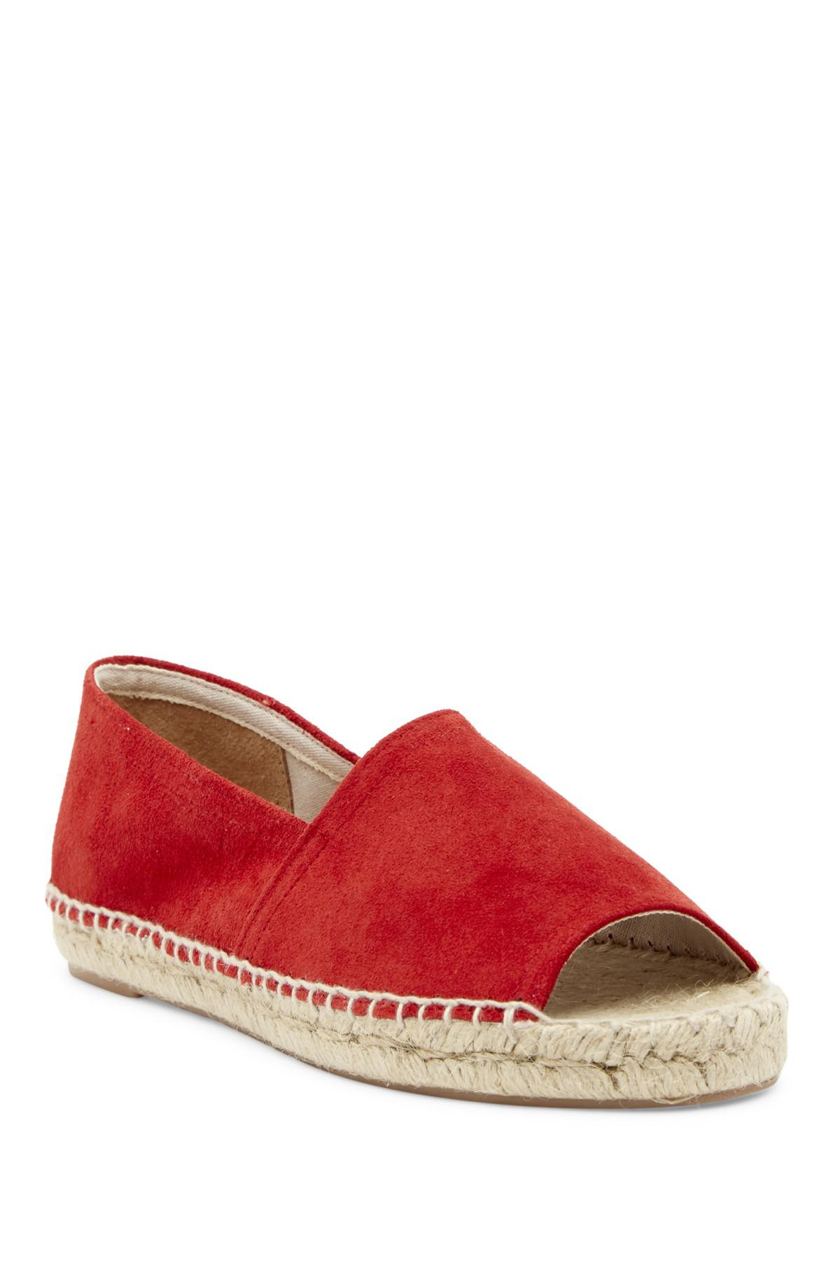 Patricia Green Striped Espadrille Flat