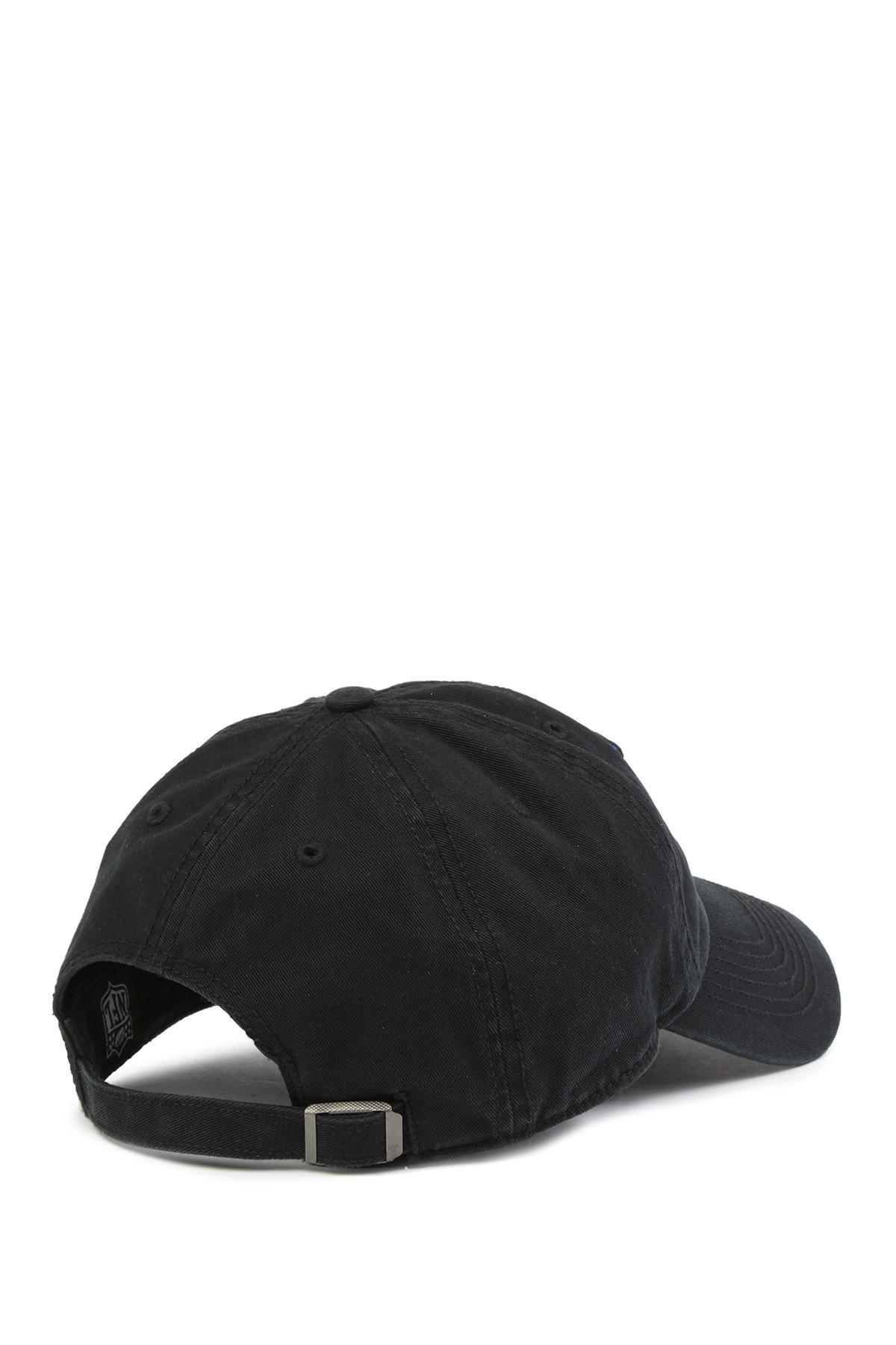 b35d533dc7c7d Lyst - 47 Brand Nfl Ny Giants Huddle 47 Clean Up Cap in Black for Men