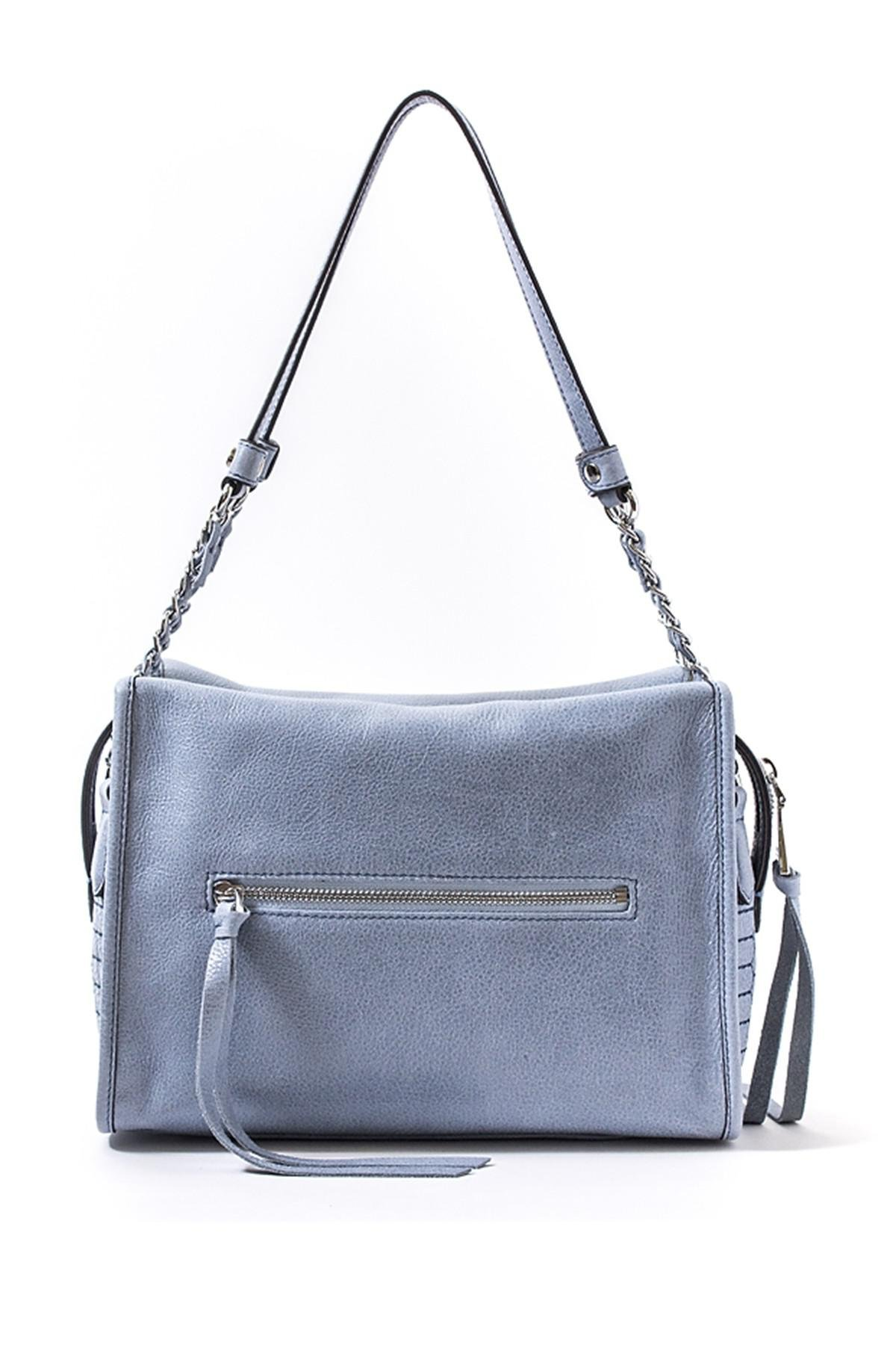 d16d70c87a Lyst - Aimee Kestenberg Leather Alexis Shoulder Bag in Blue