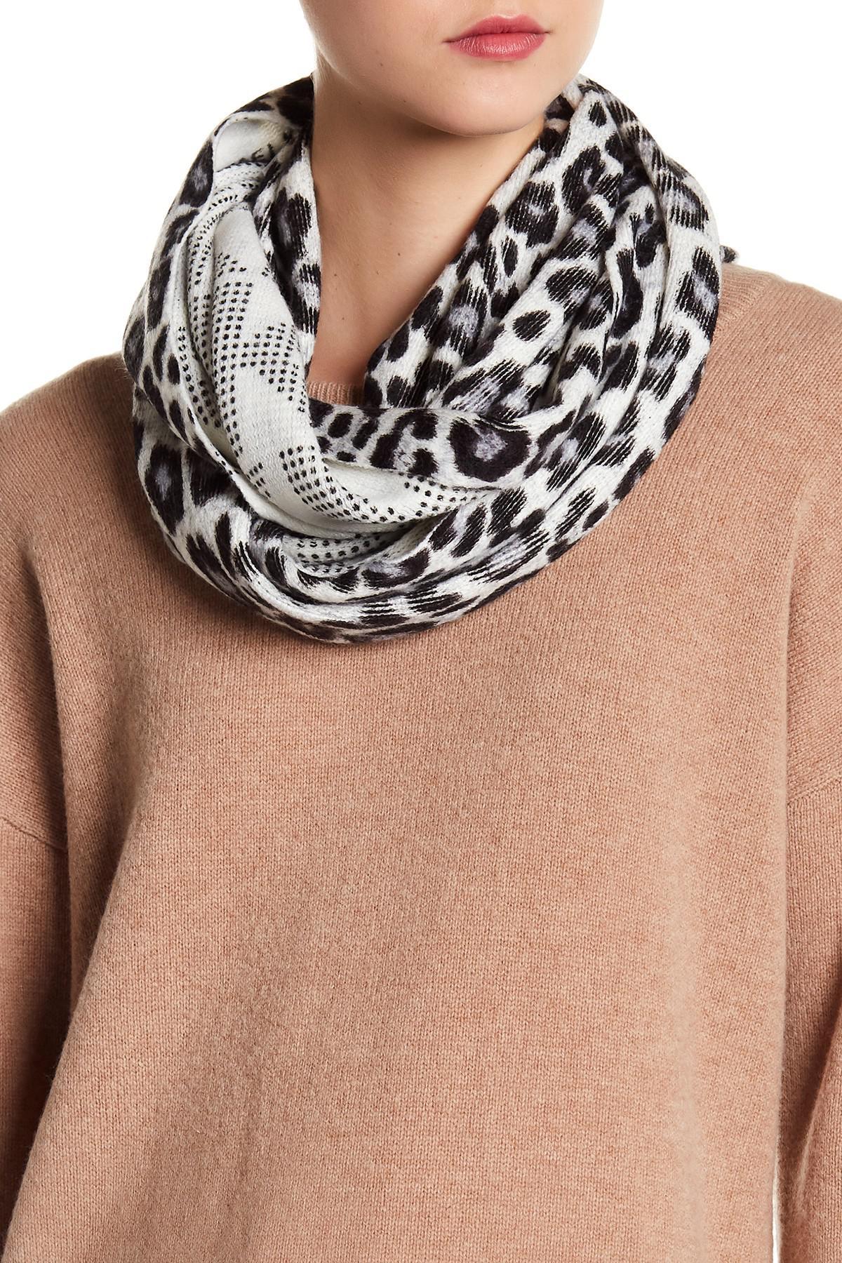 Infinity leopard scarf macy?s forecast to wear in winter in 2019