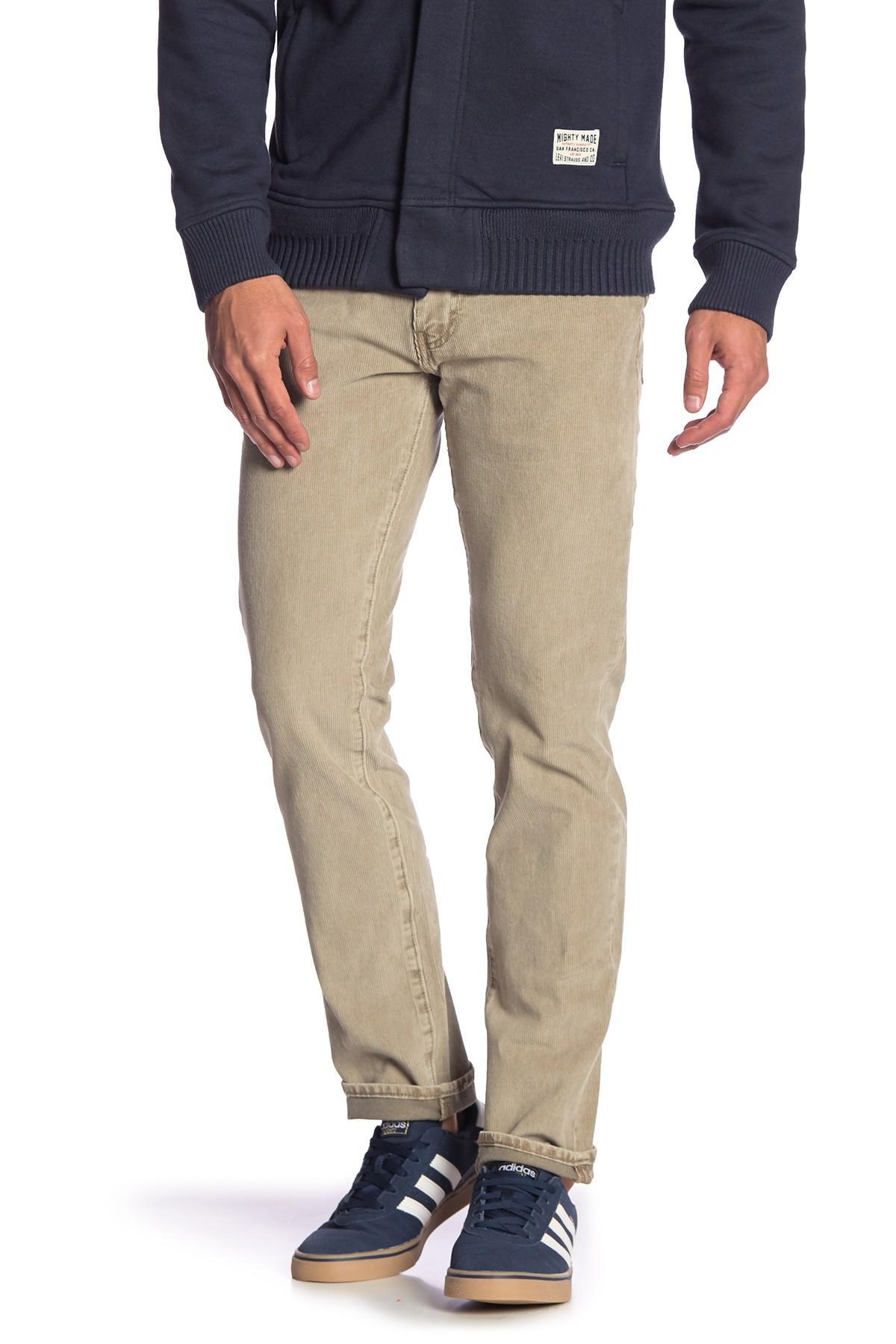 0d46cbb1 Levi's 511 Slim Fit Corduroy Pants - 32-34