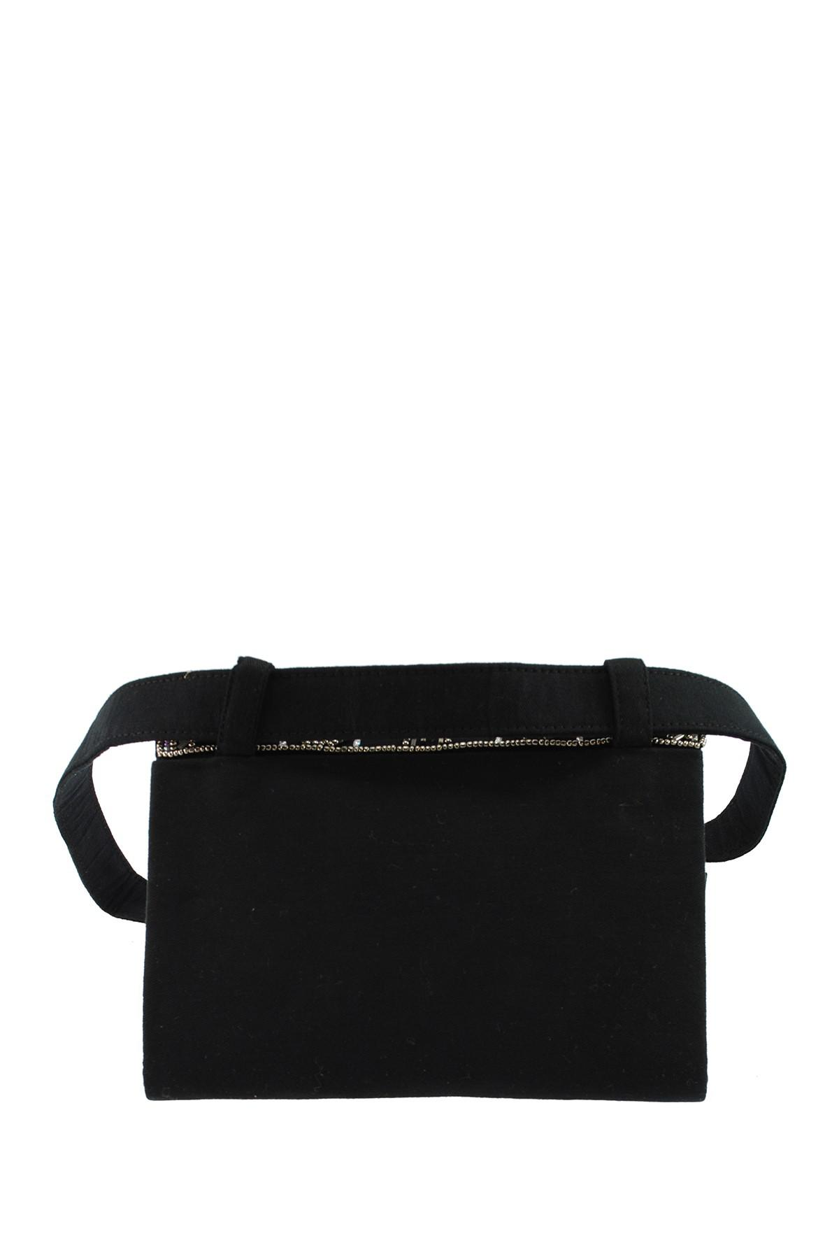 04082e473 Lyst - Mary Frances Embellished Belt Bag in Black