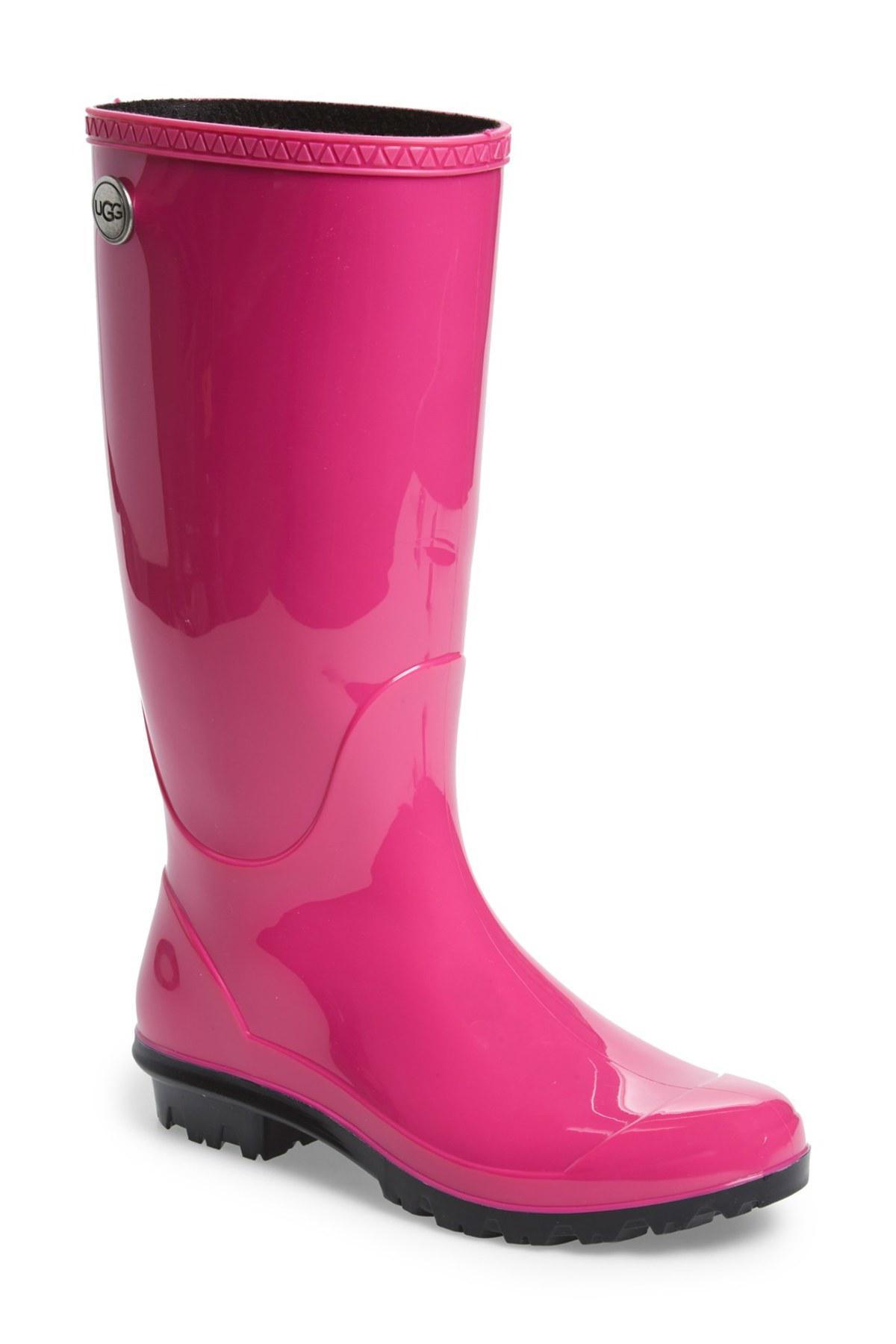 205c61762b3 Lyst - UGG Shaye Waterproof Rain Boot in Pink