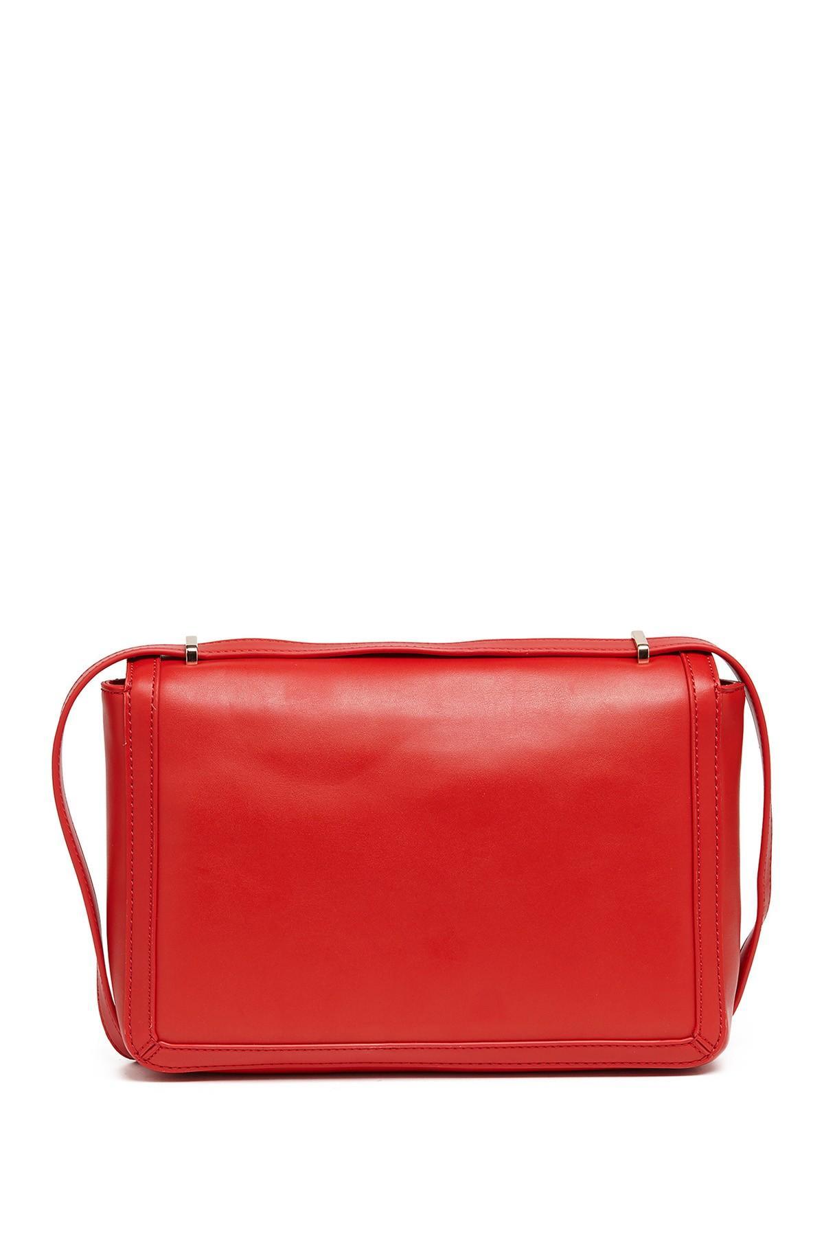 bfa437af61201 Love Moschino - Red Mirror Heart Shoulder Bag - Lyst. View fullscreen