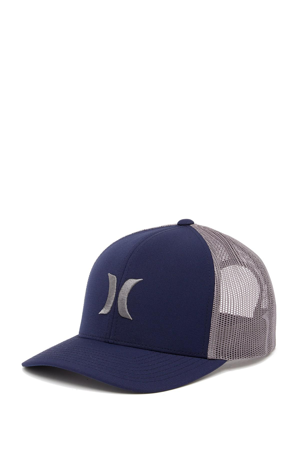 competitive price 7b13d 91f38 discount lyst hurley del mar trucker hat for men f7e2f 7ffbb