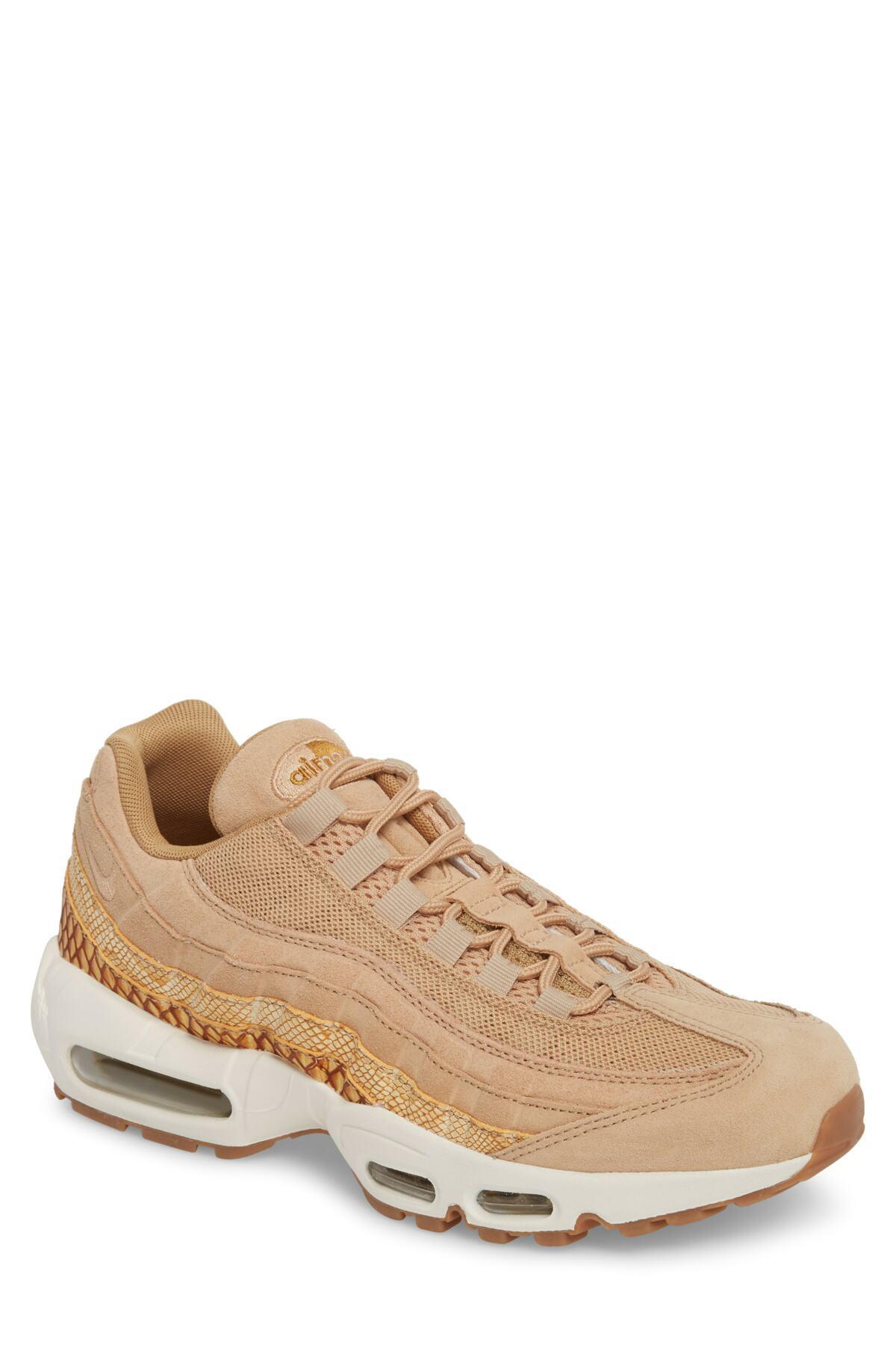finest selection cee2f 5eb13 Nike. Brown Air Max 95 Premium Se Sneaker (men)