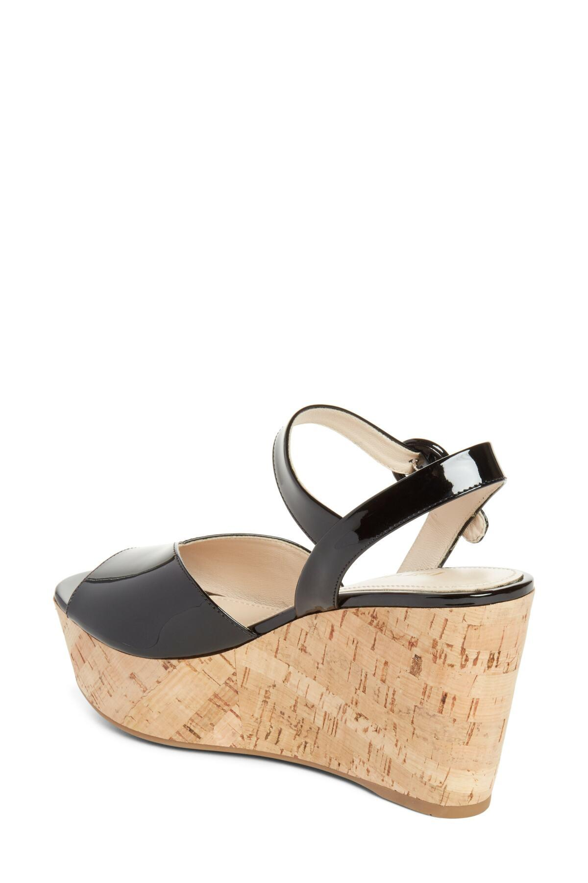 c46846fa6379 Lyst - Prada Wedge Platform Sandal (women) (nordstrom Exclusive) in ...
