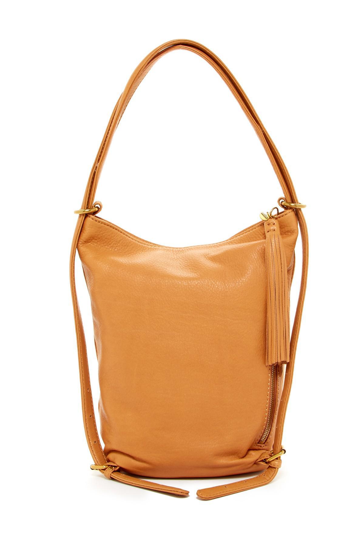73a6449496e3 Lyst - Hobo Blaze Leather Backpack shoulder Bag