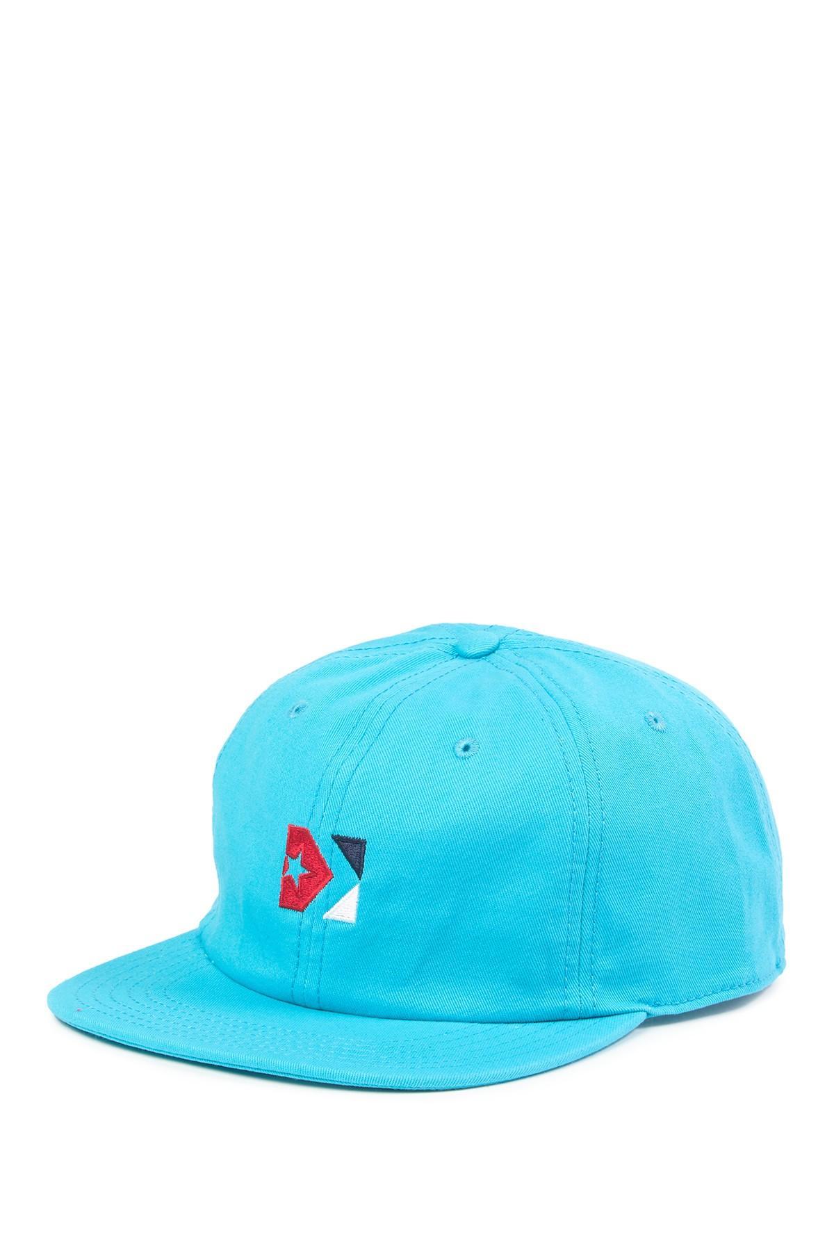 4a7335fb0ddeba Lyst - Converse Star Chevron Box 535 Cap in Blue