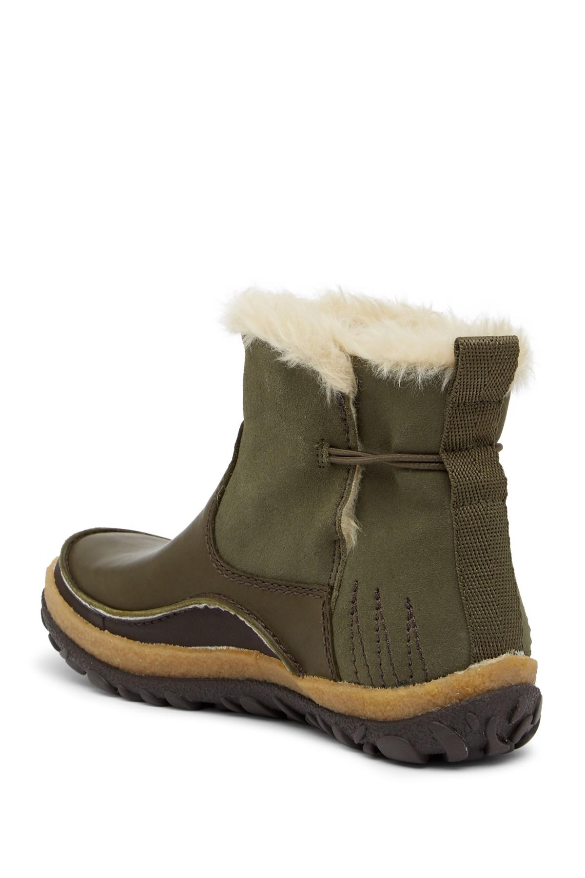 Merrell Tremblant Faux Fur Trimmed Pull-On Waterproof Boot zmxMSK2