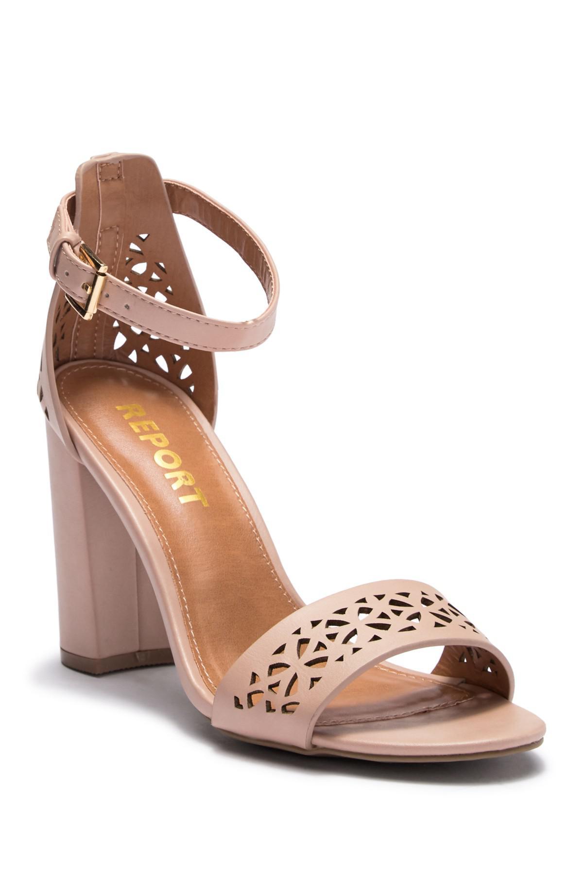 Report Windlyn Ankle Strap Heel Sandal KYr0N8b