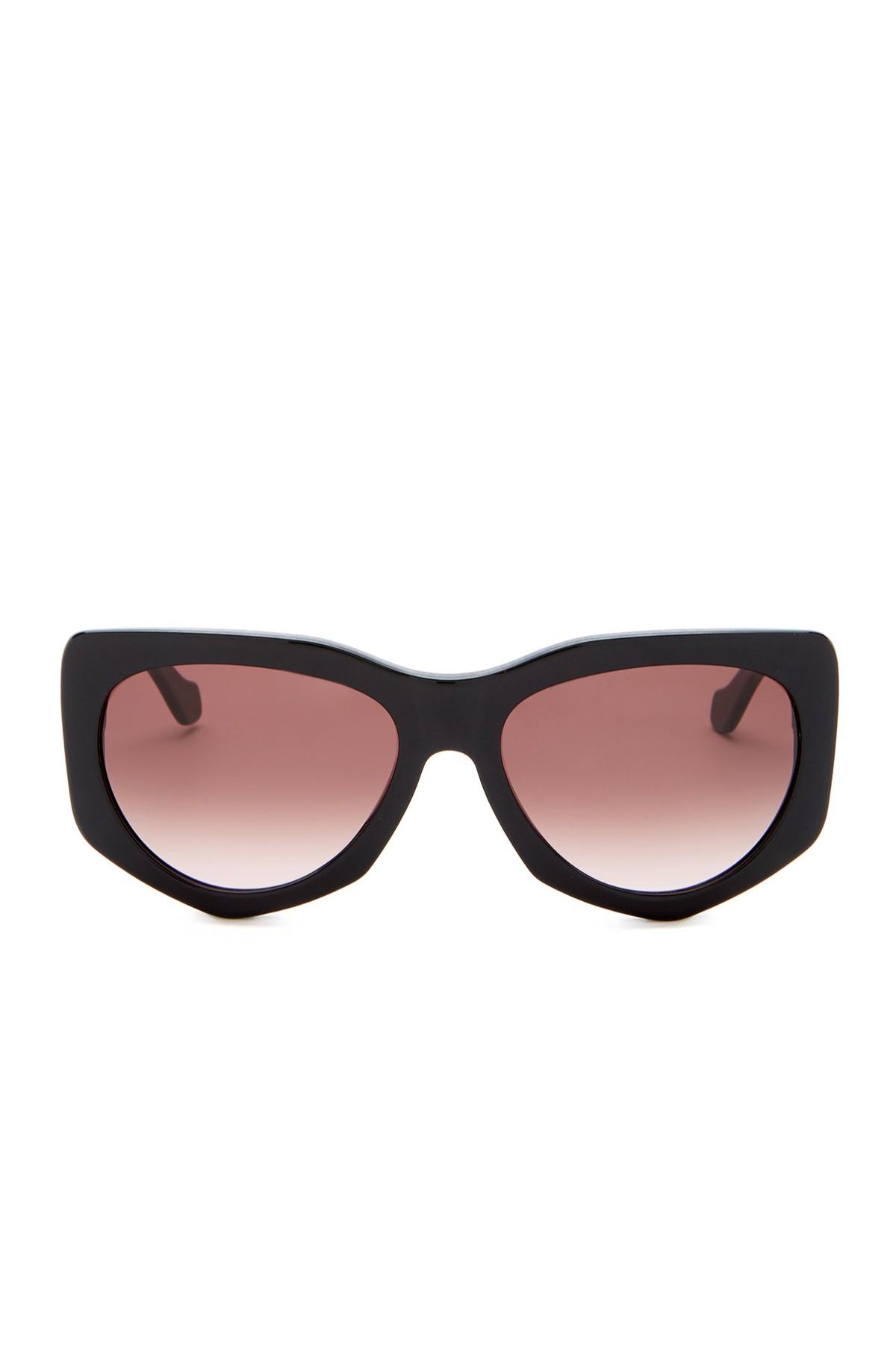 1fe730fdbeb45 Balenciaga Women  39 s Plastic Sunglasses in Black