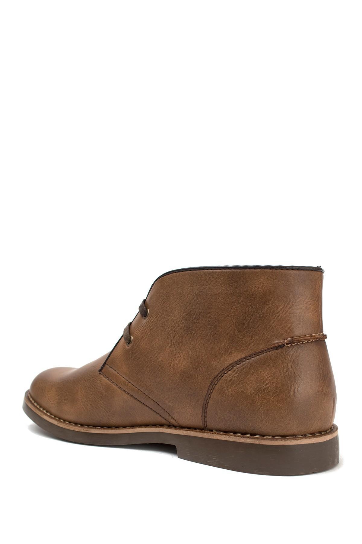 Lyst U S Polo Assn Bleeker Chukka Boot In Brown For Men