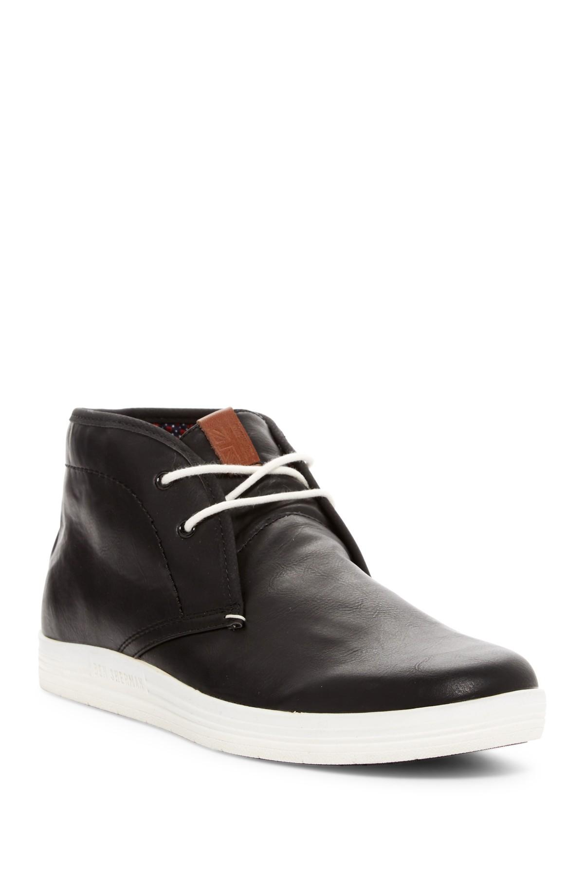 lyst ben sherman vaughn sneaker in black for men