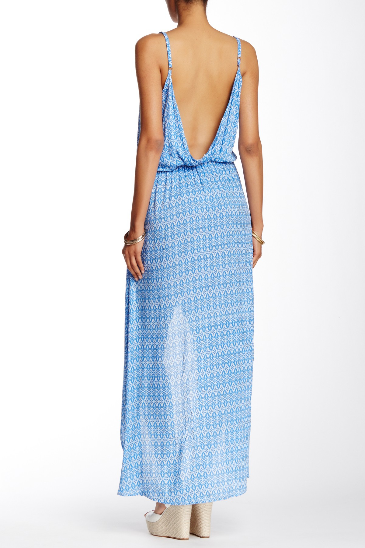 Tiare hawaii boardwalk dress in blue lyst for Nordstrom rack dresses pour mariage